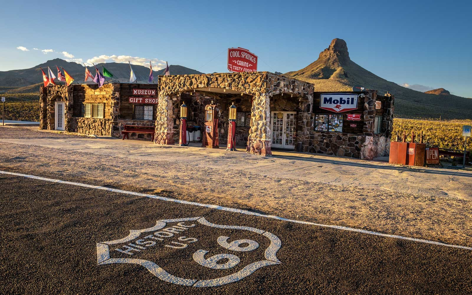 Route 66, Cool Springs, Arizona