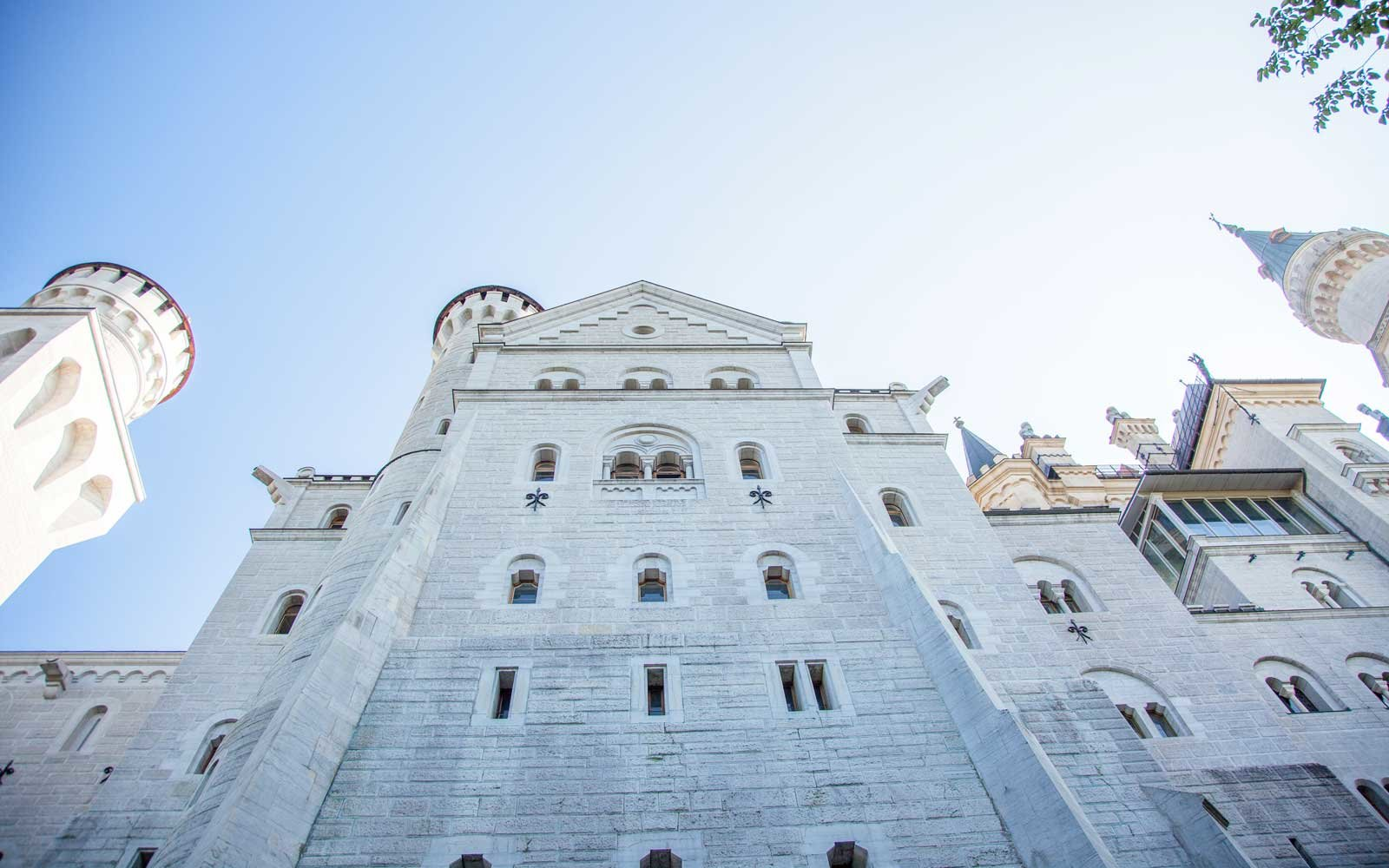 How Tall is Neuschwanstein Castle