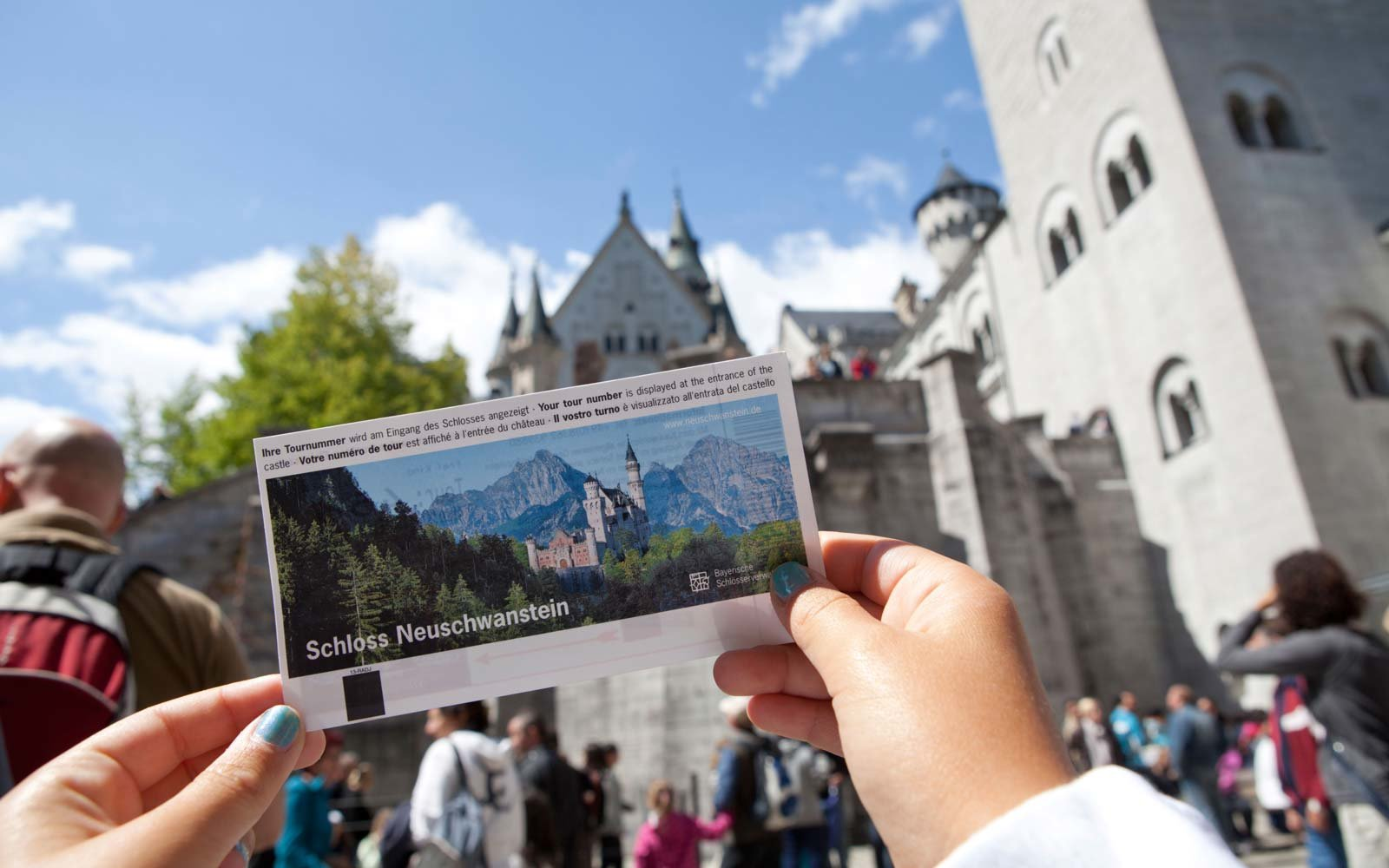 Tickets for Neuschwanstein Castle
