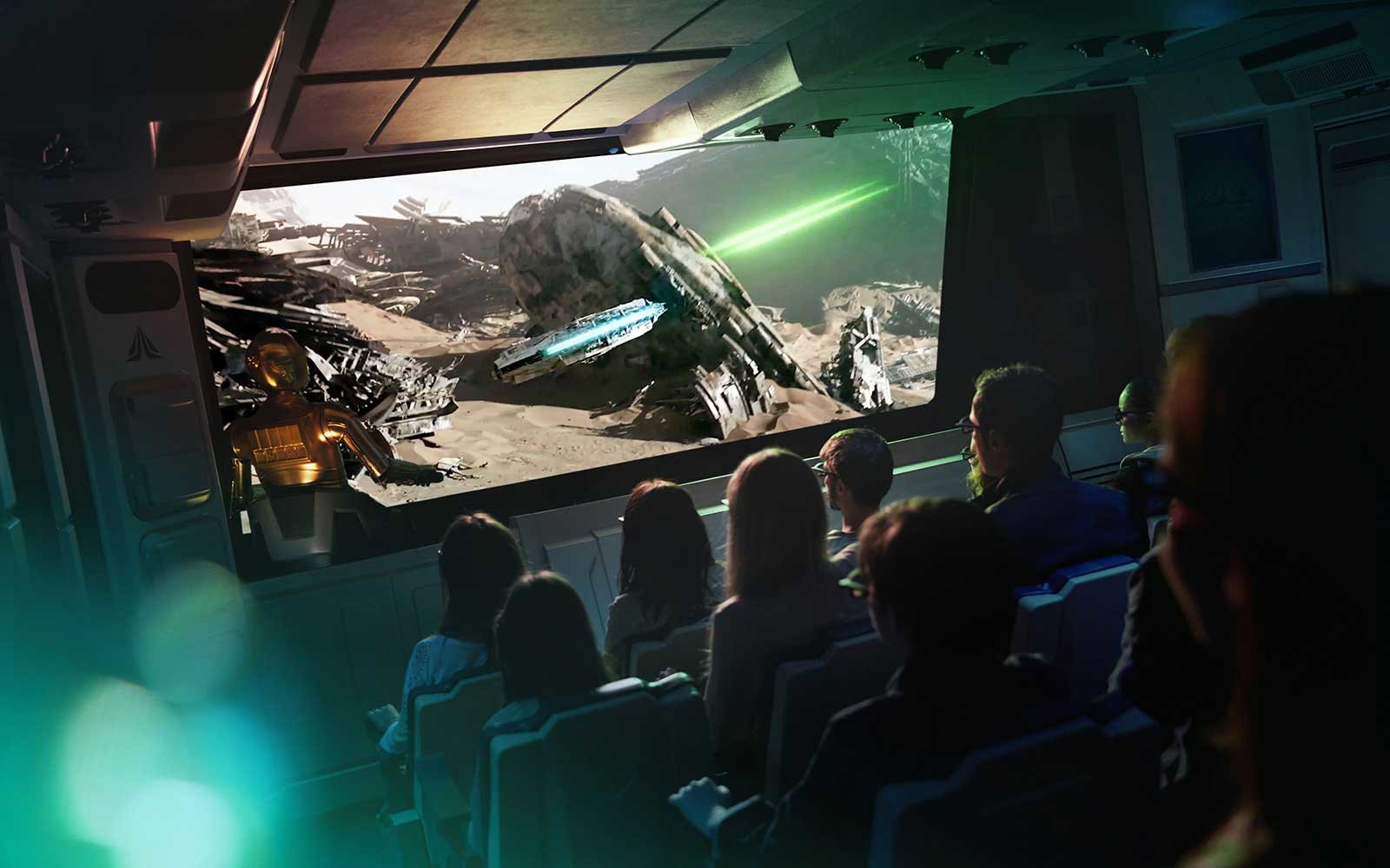 Disneyland Paris Star Tours