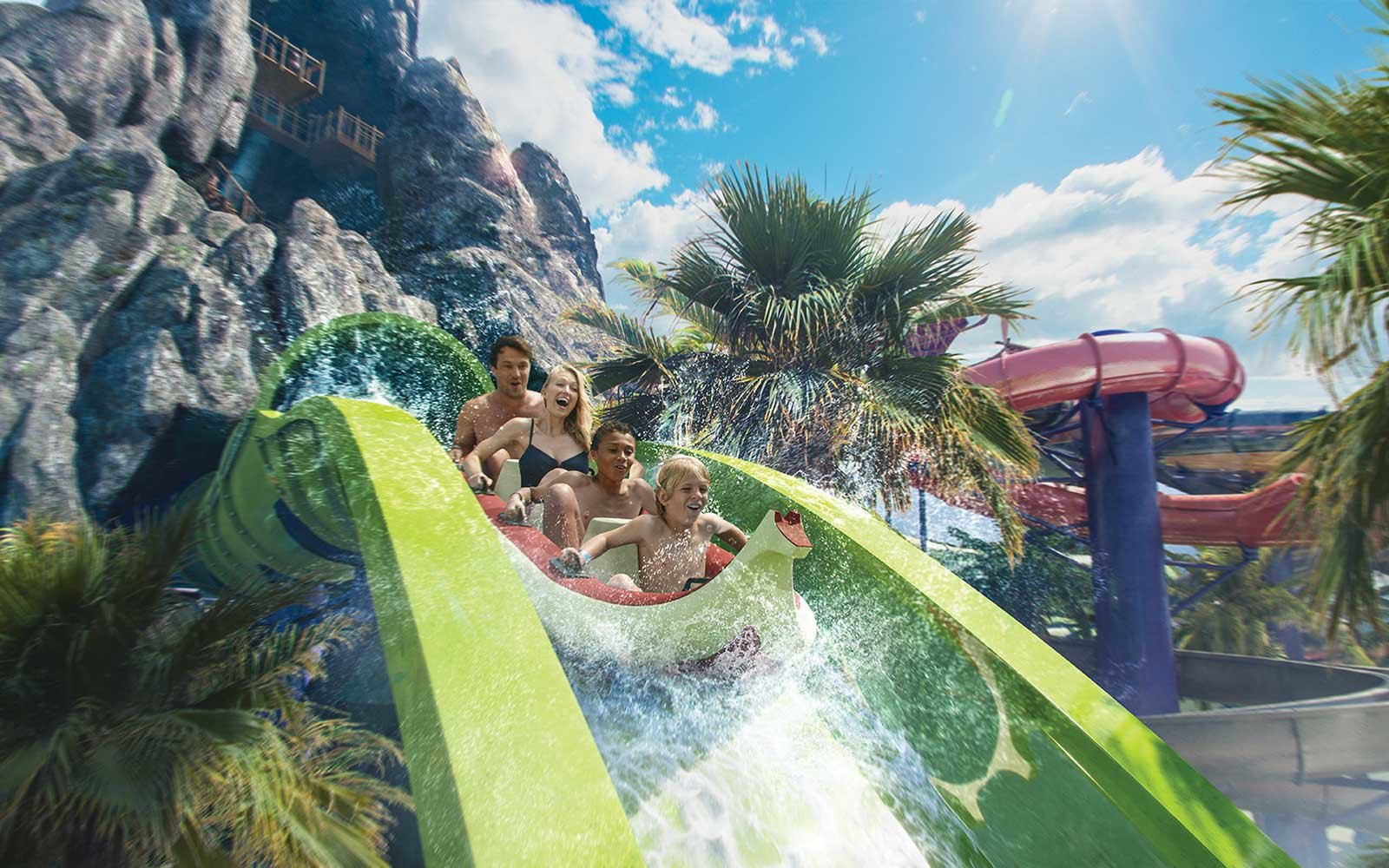 In Universal Orlando Resort Volcano Bay