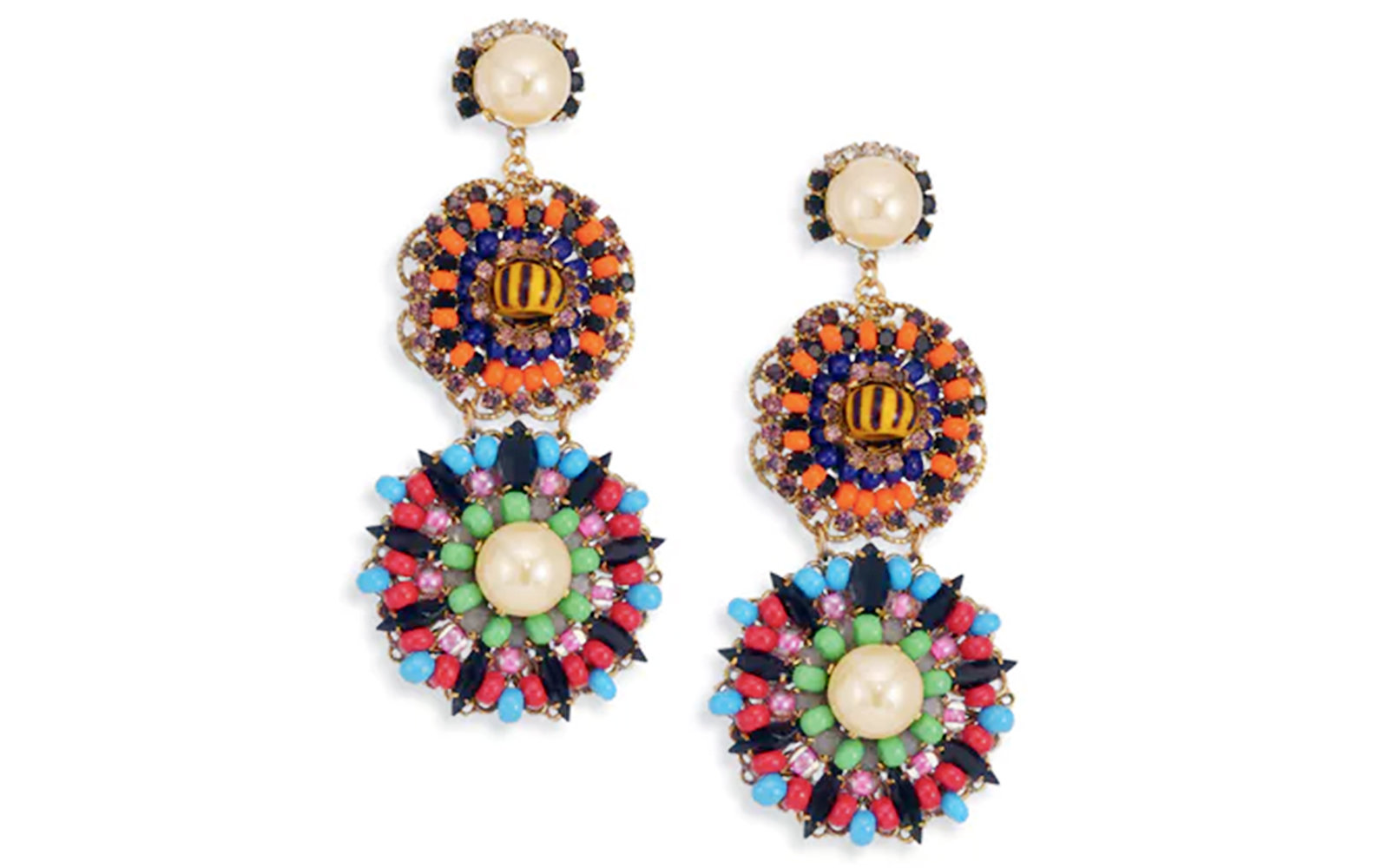 Erickson Beamon Summer Statement Earrings
