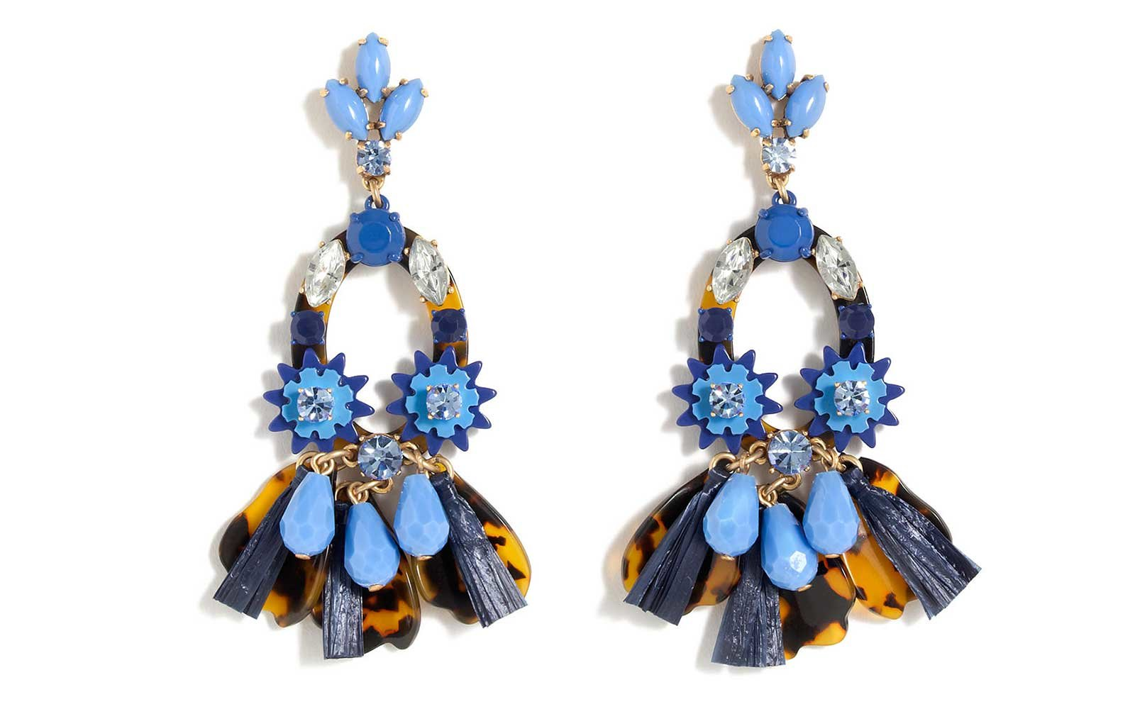 J. Crew Summer Statement Earrings