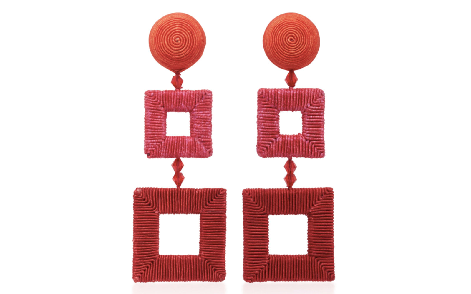 Oscar de la Renta Summer Statement Earrings