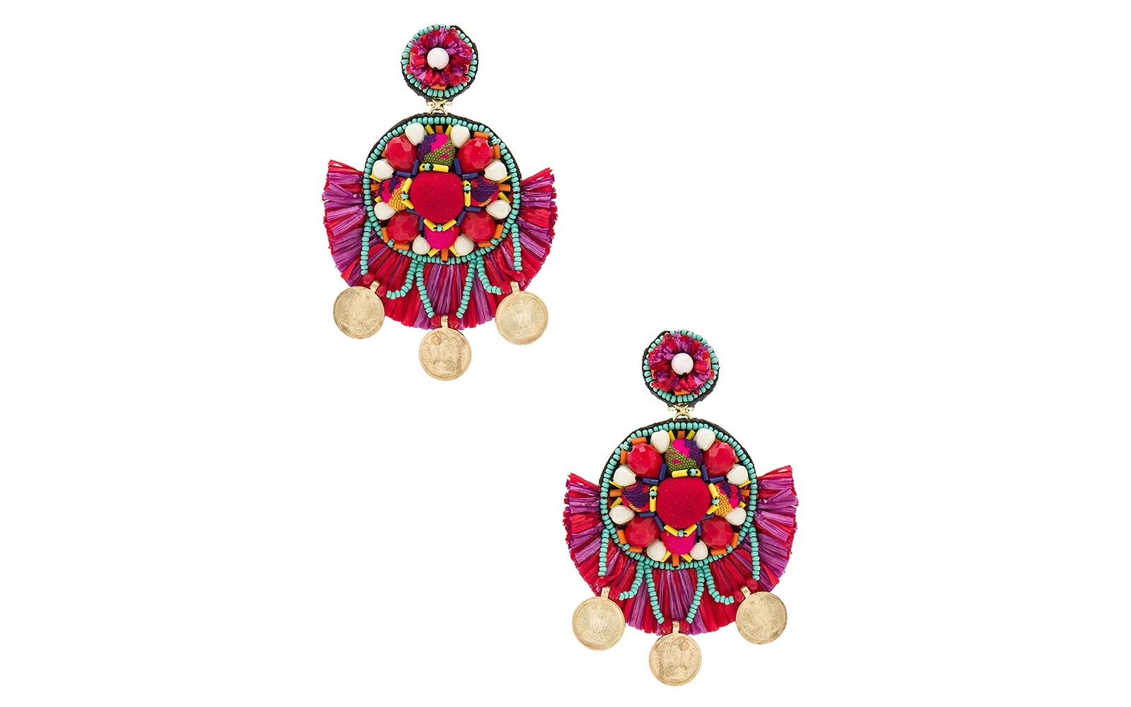 Ranjana Khan Summer Statement Earrings