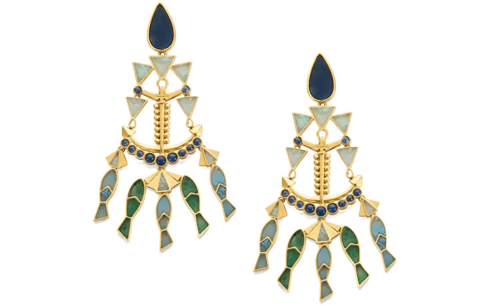 Tory Burch Summer Statement Earrings