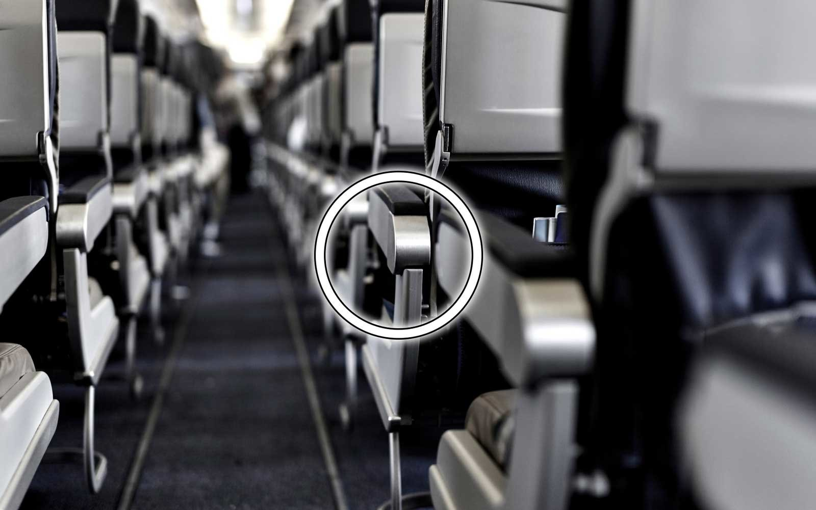 There S A Secret Button On Your Airplane Seat That Will