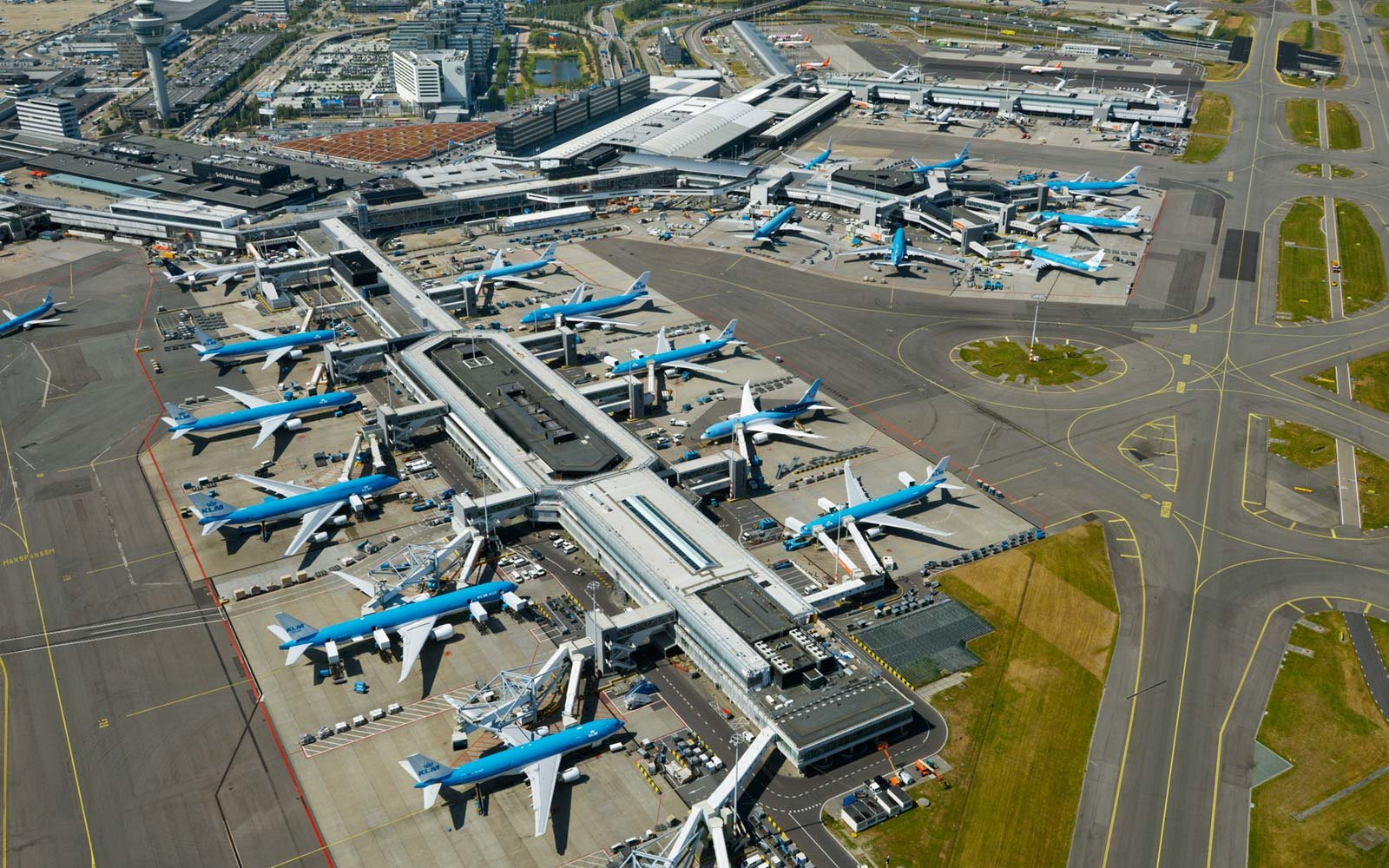 Amsterdam Airport Schiphol, The Netherlands
