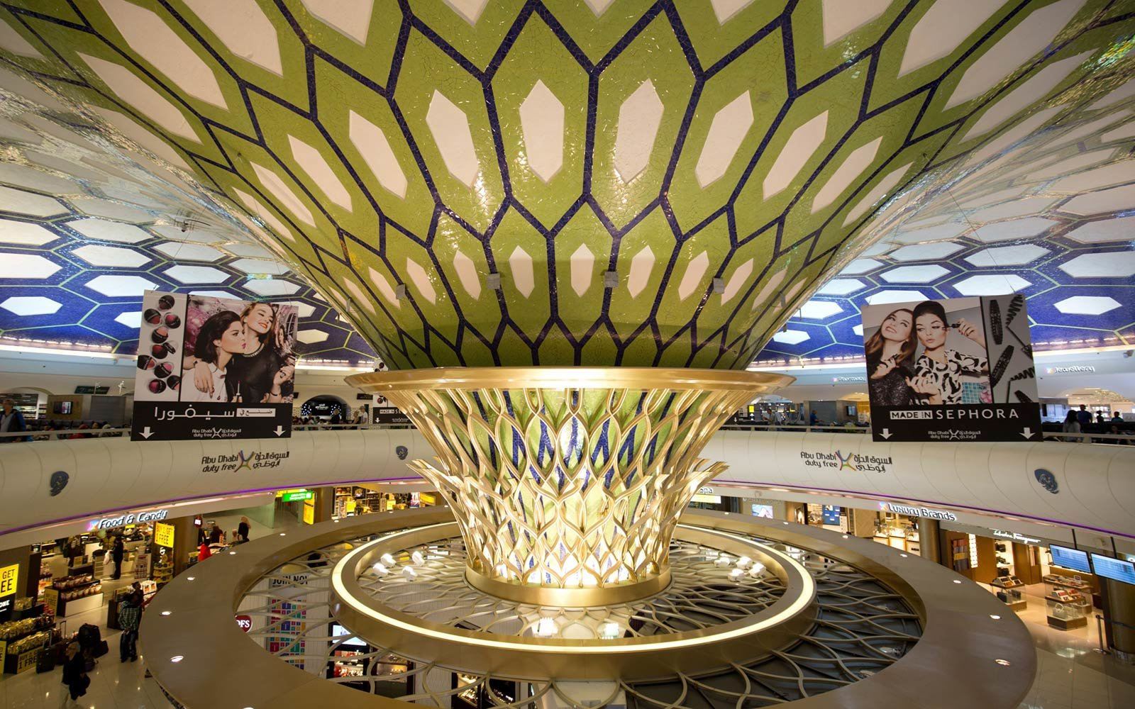 The 2017 world 39 s best international airports travel for International decor company abu dhabi