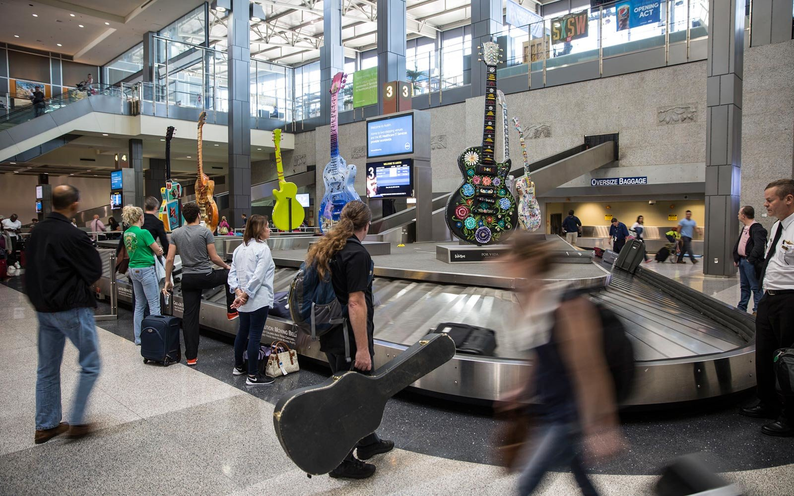 Austin-Bergstrom International Airport, Texas
