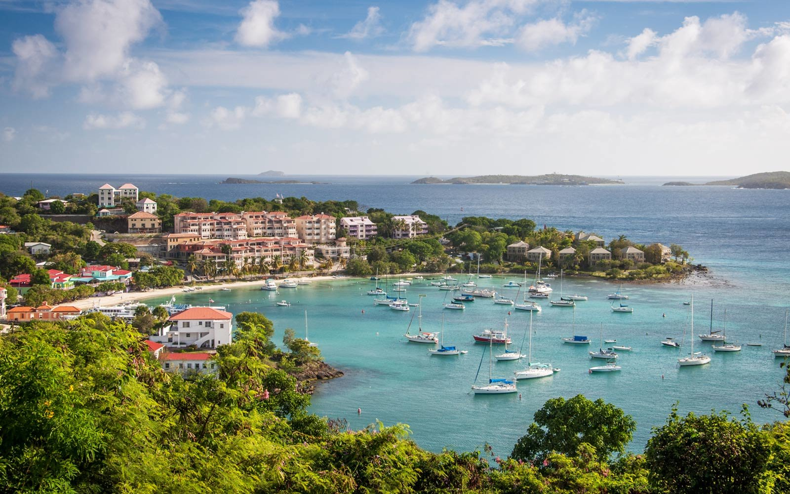 Cruz Bay Harbor, St. John, U.S. Virgin Islands