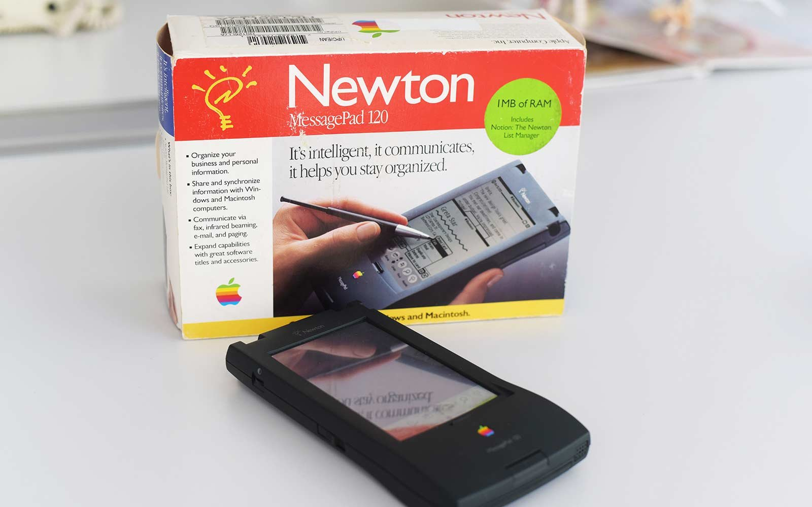 apple message pad newton