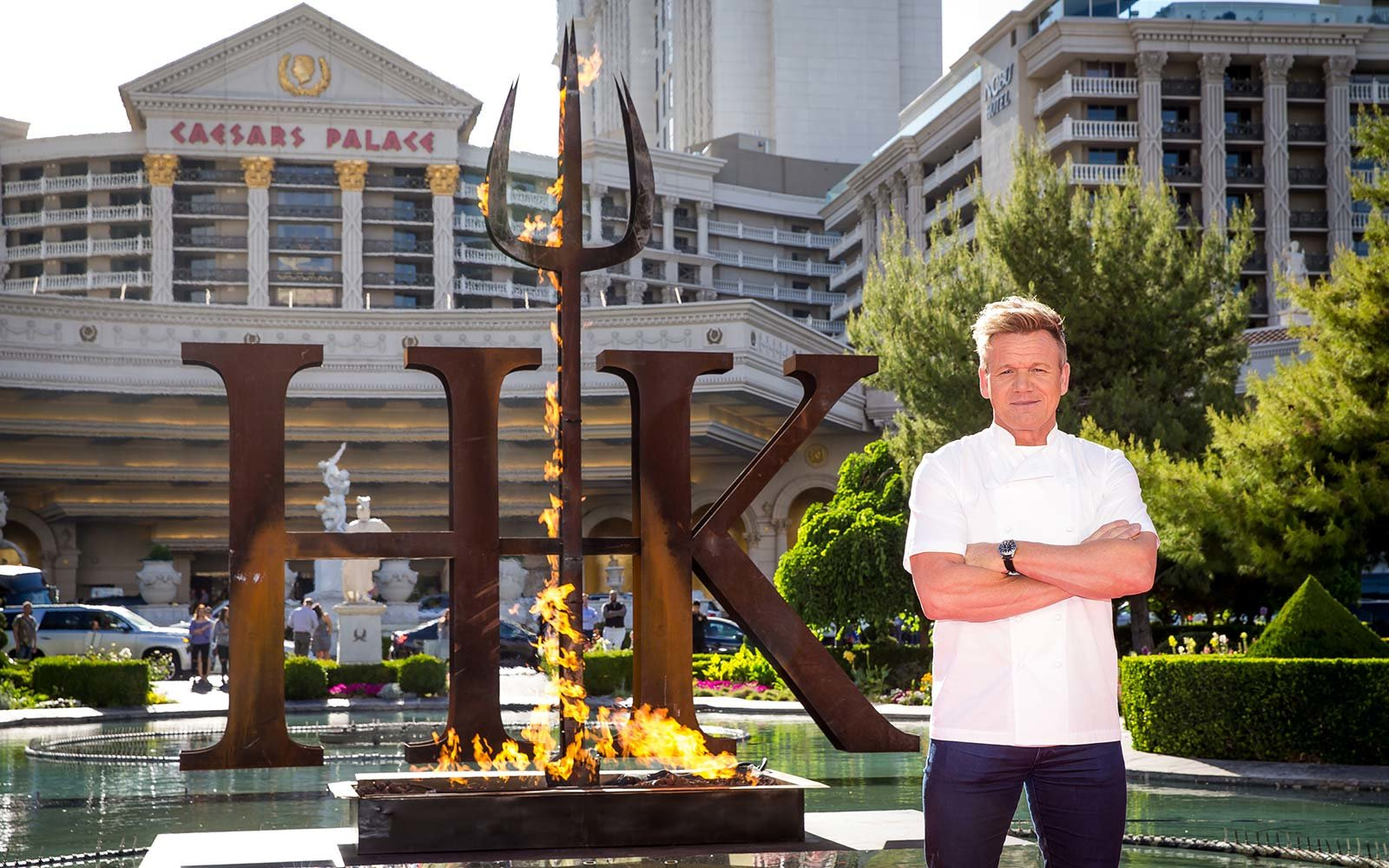 Gordon Ramsay Will Open First-Ever Hell's Kitchen Theme Restaurant in Las Vegas