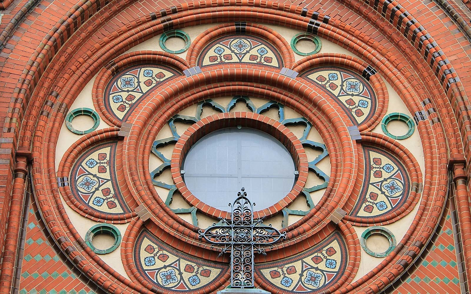 Germany Floral Church Window Architecture