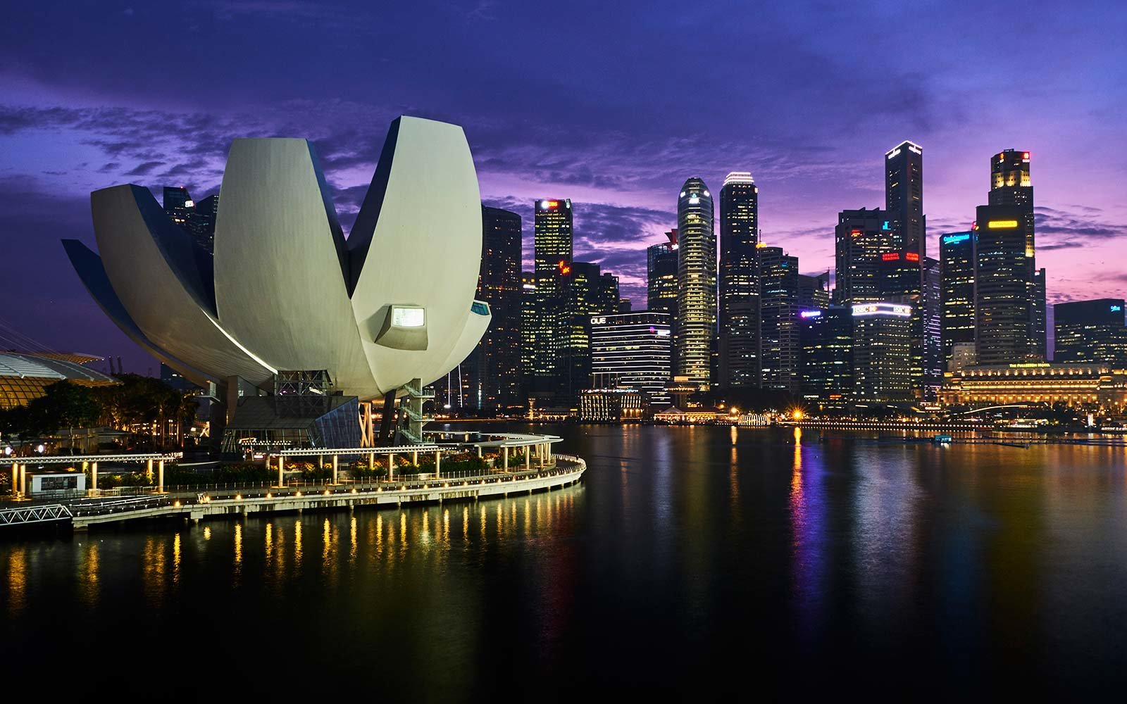 Singapore, Marina Bay, Arts and Sciences Museum