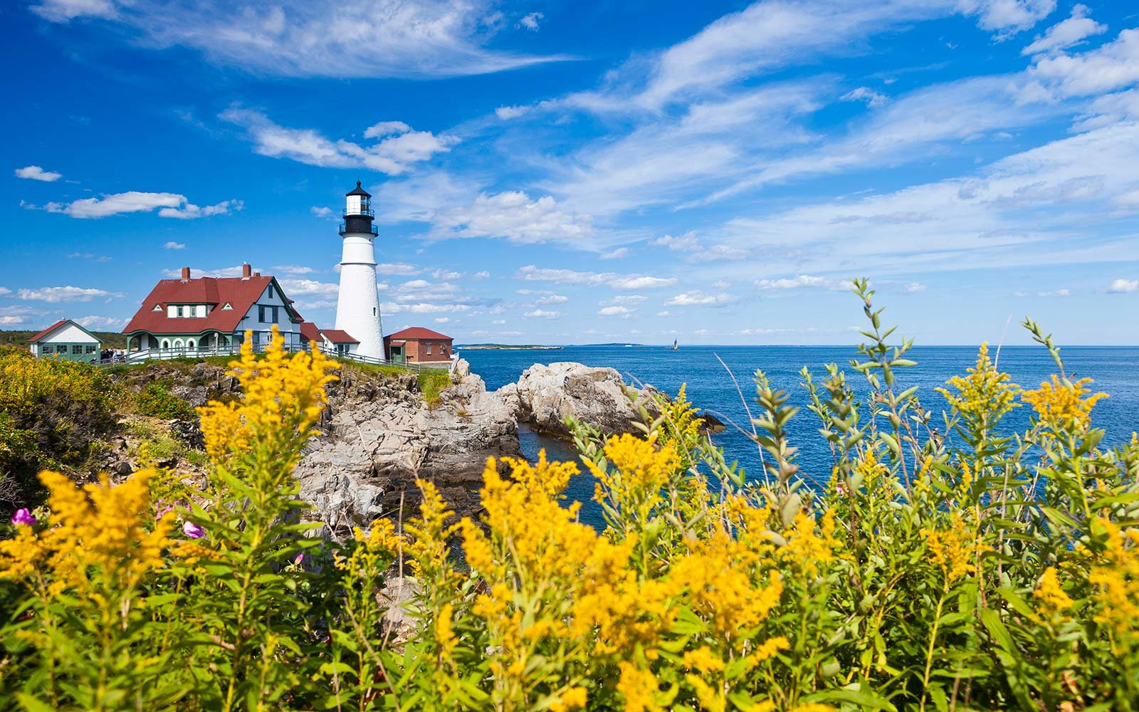 Portland Head Lighthouse Maine Summer