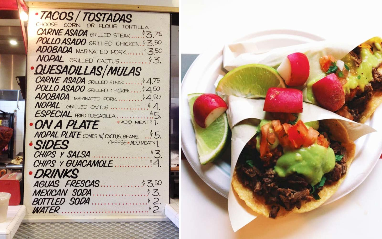 Los Tacos No. 1, New York, NY
