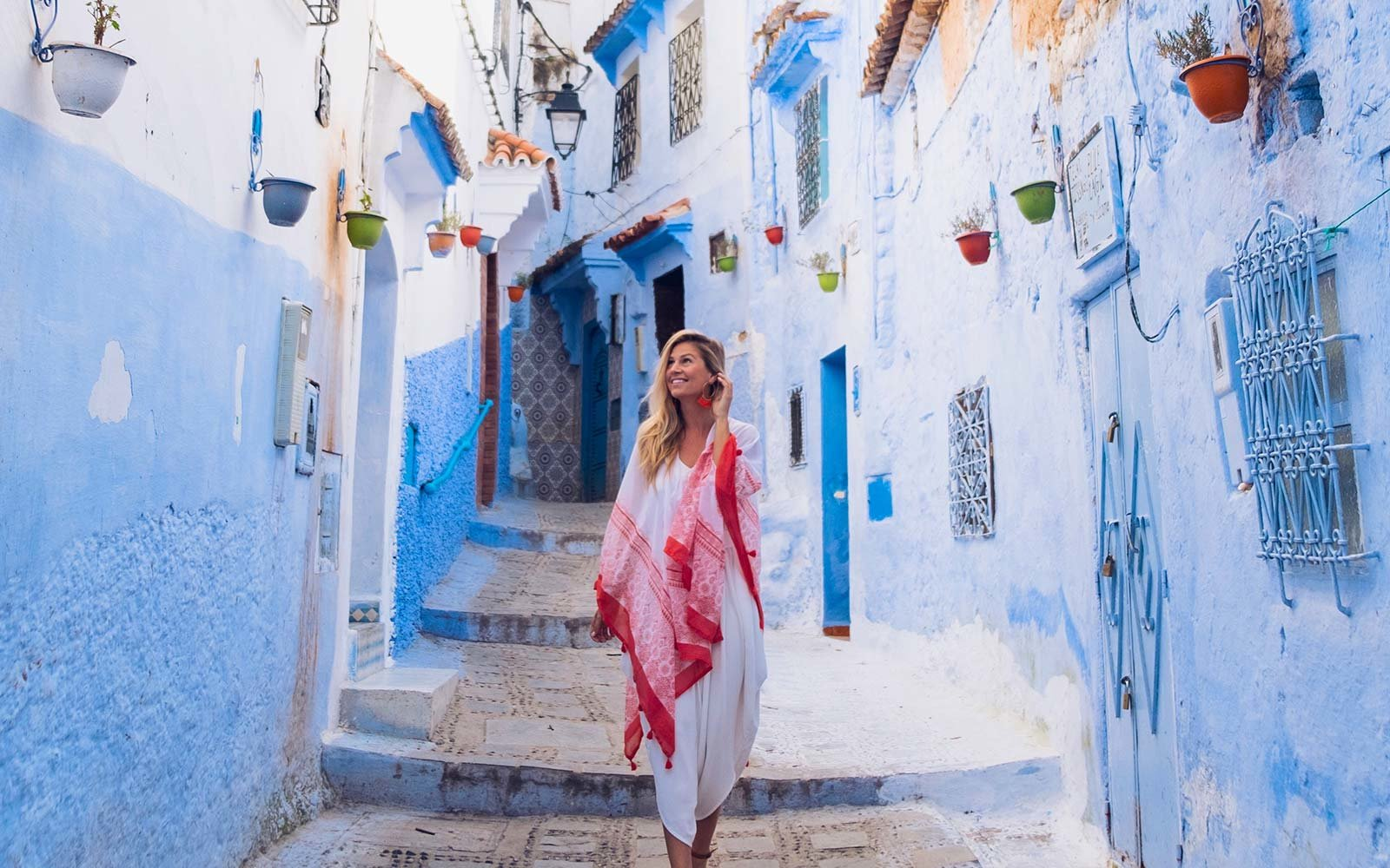 Kiersten Rich The Blonde Abroad Chefchaouen Morocco