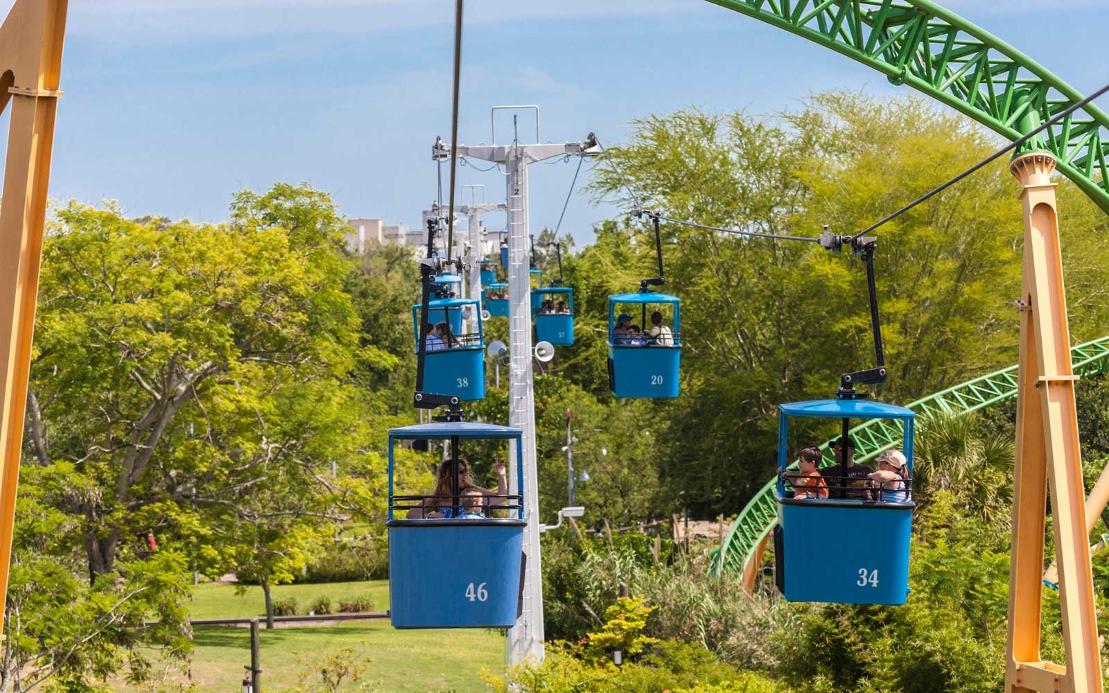 Transportation at Busch Gardens Tampa