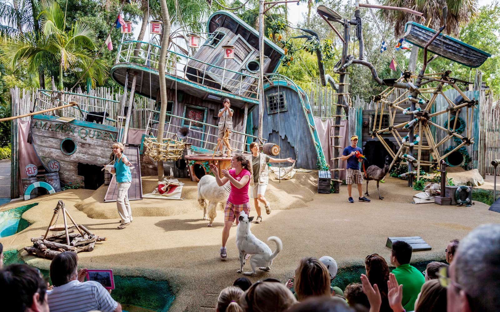 Attractions At Busch Gardens Tampa