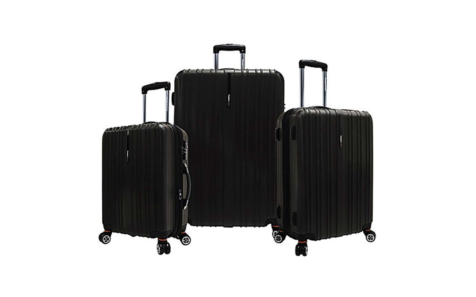 Traveler Choice Tasmania Expandable Hardside Spinner Luggage Set