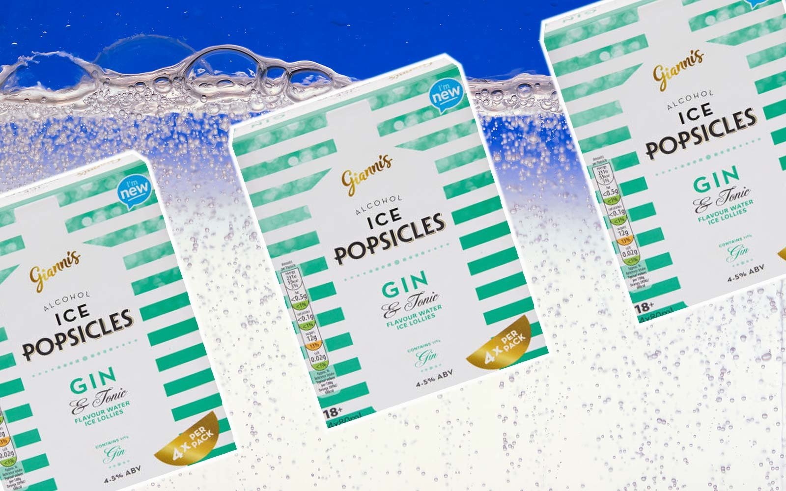 Aldi Launched Gin and Tonic Popsicles