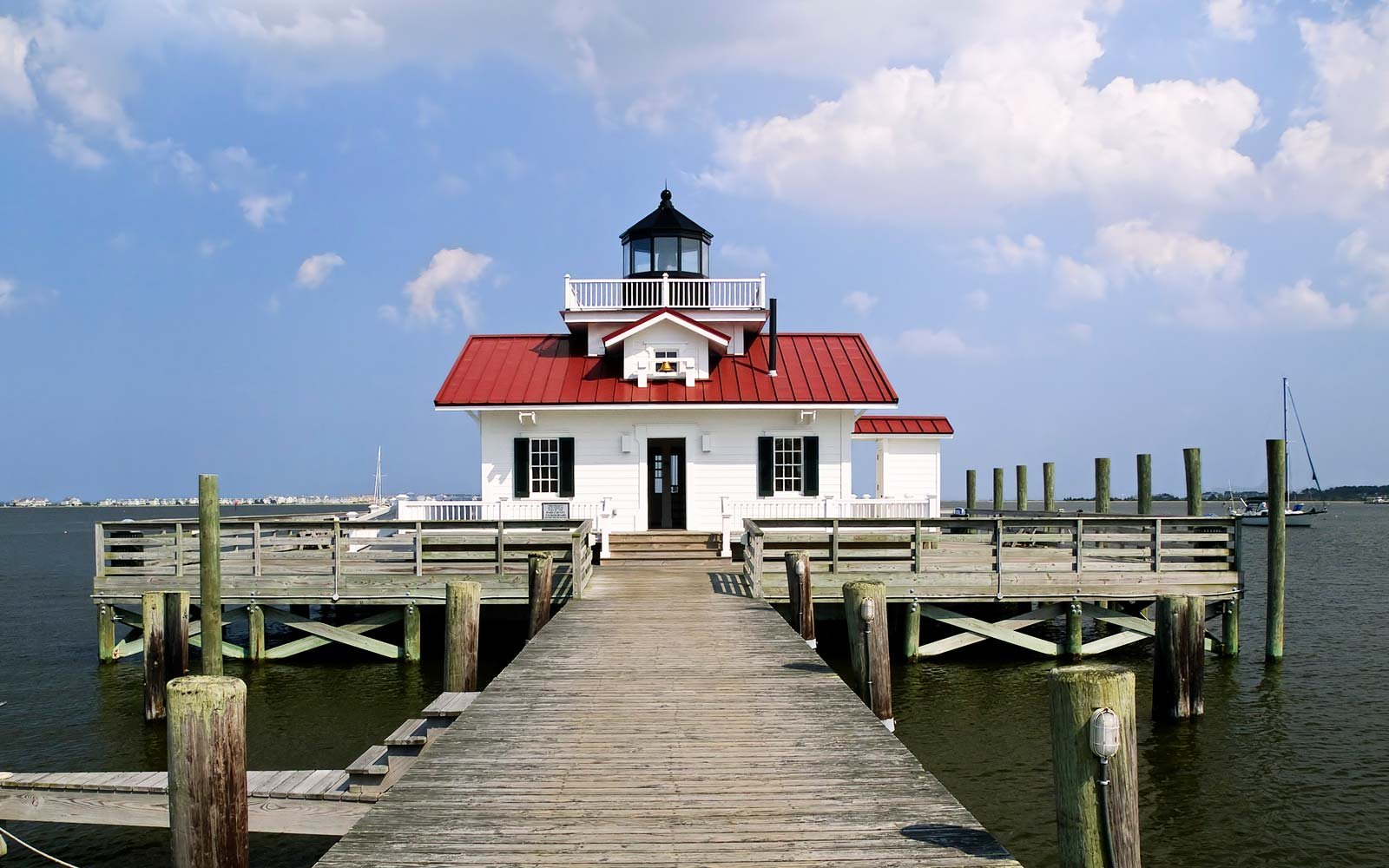 Marches Lighthouse, Manteo, Roanoke Island