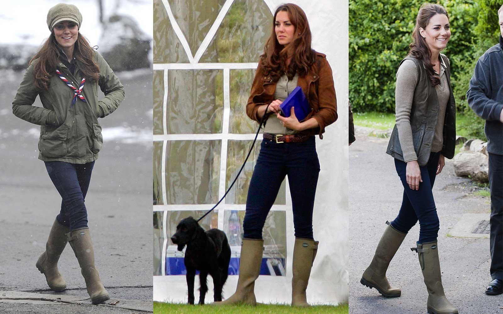 Kate Middleton Wellies