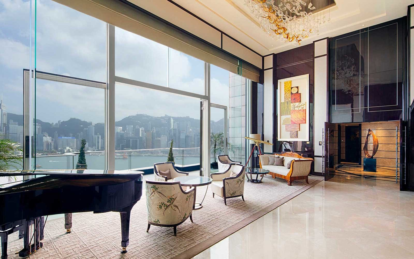 The Peninsula Hotel in Hong Kong