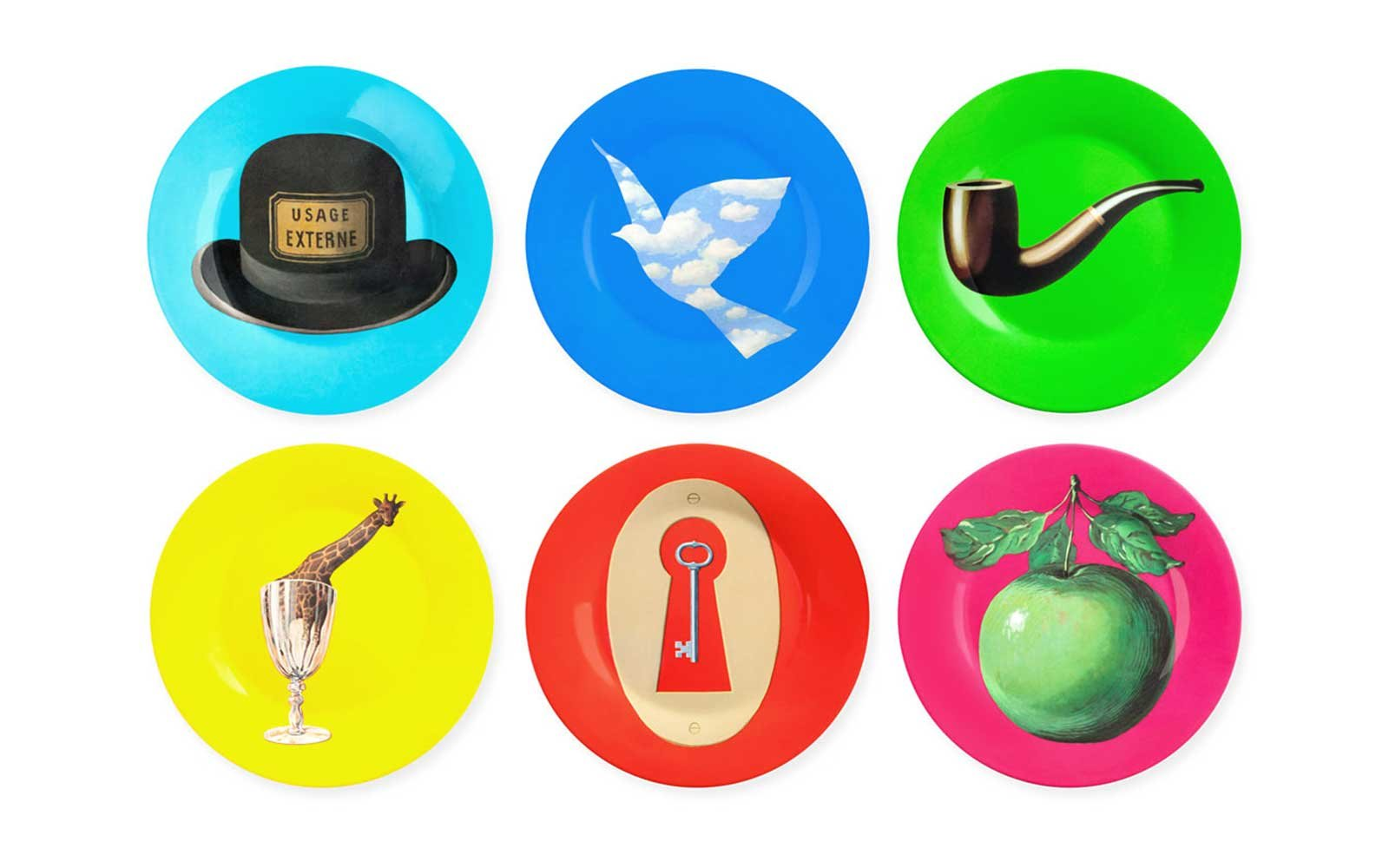 Magritte Plates