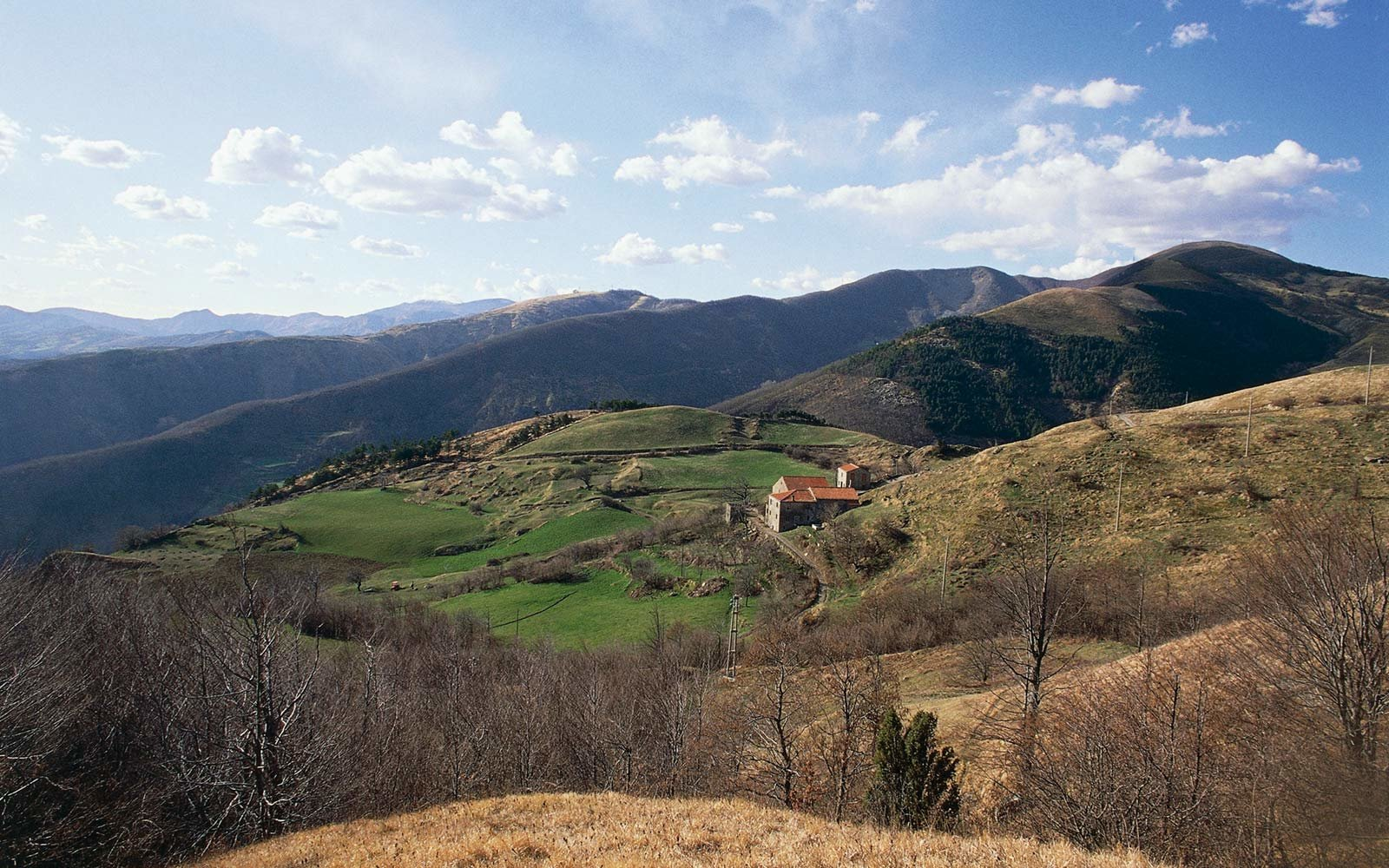 Countryside near Varese Ligure, Liguria, Italy