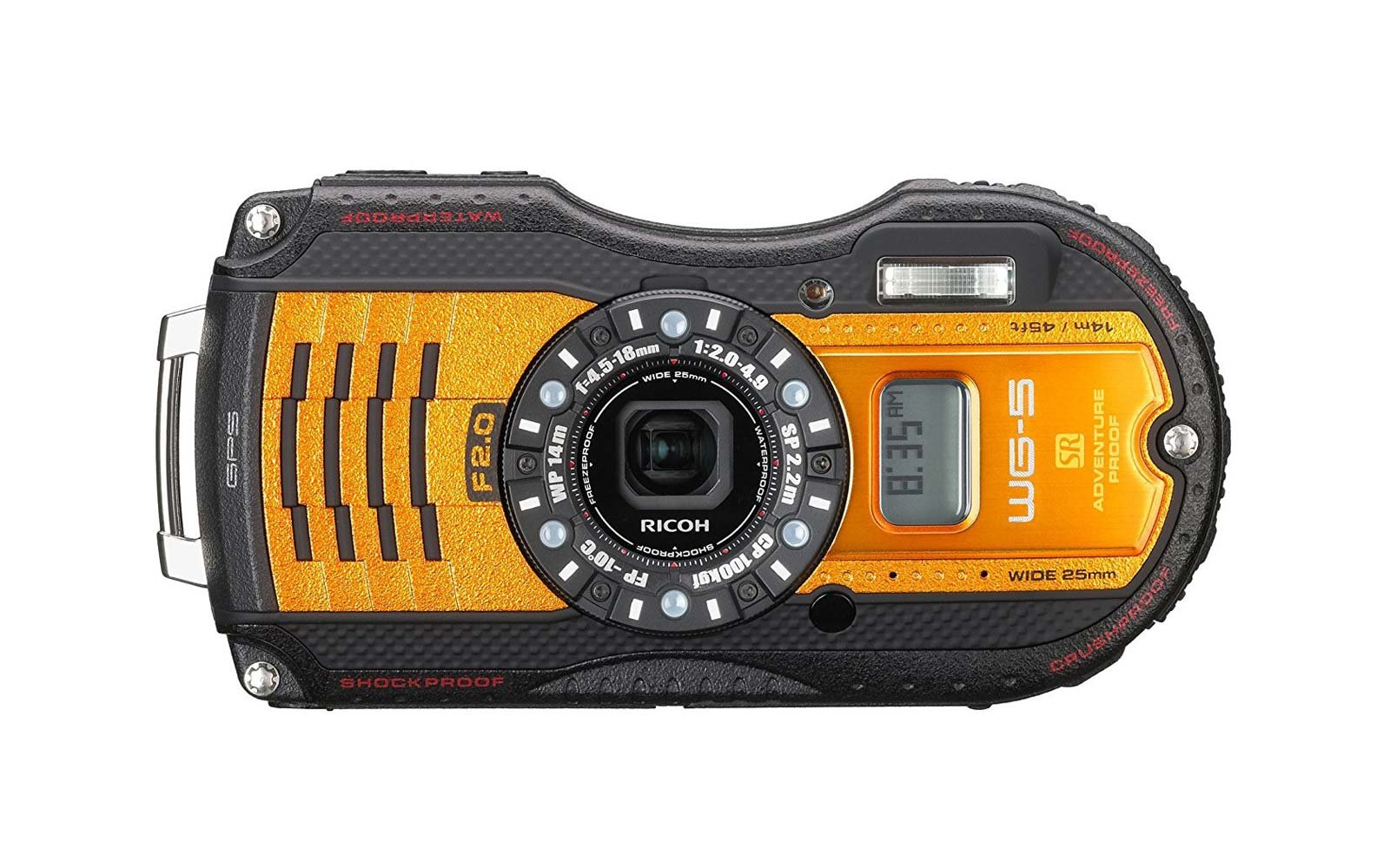 Ricoh 16 Waterproof Camera
