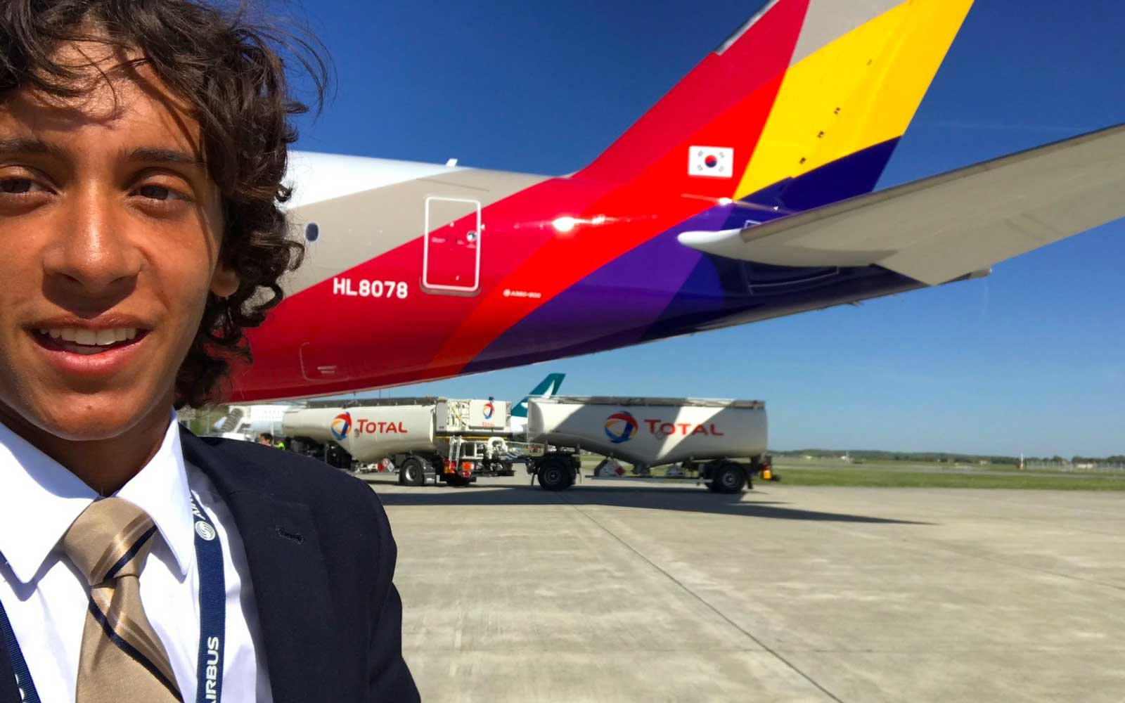 This 20-year-old Aviation Expert Has the Coolest Job on the Planet