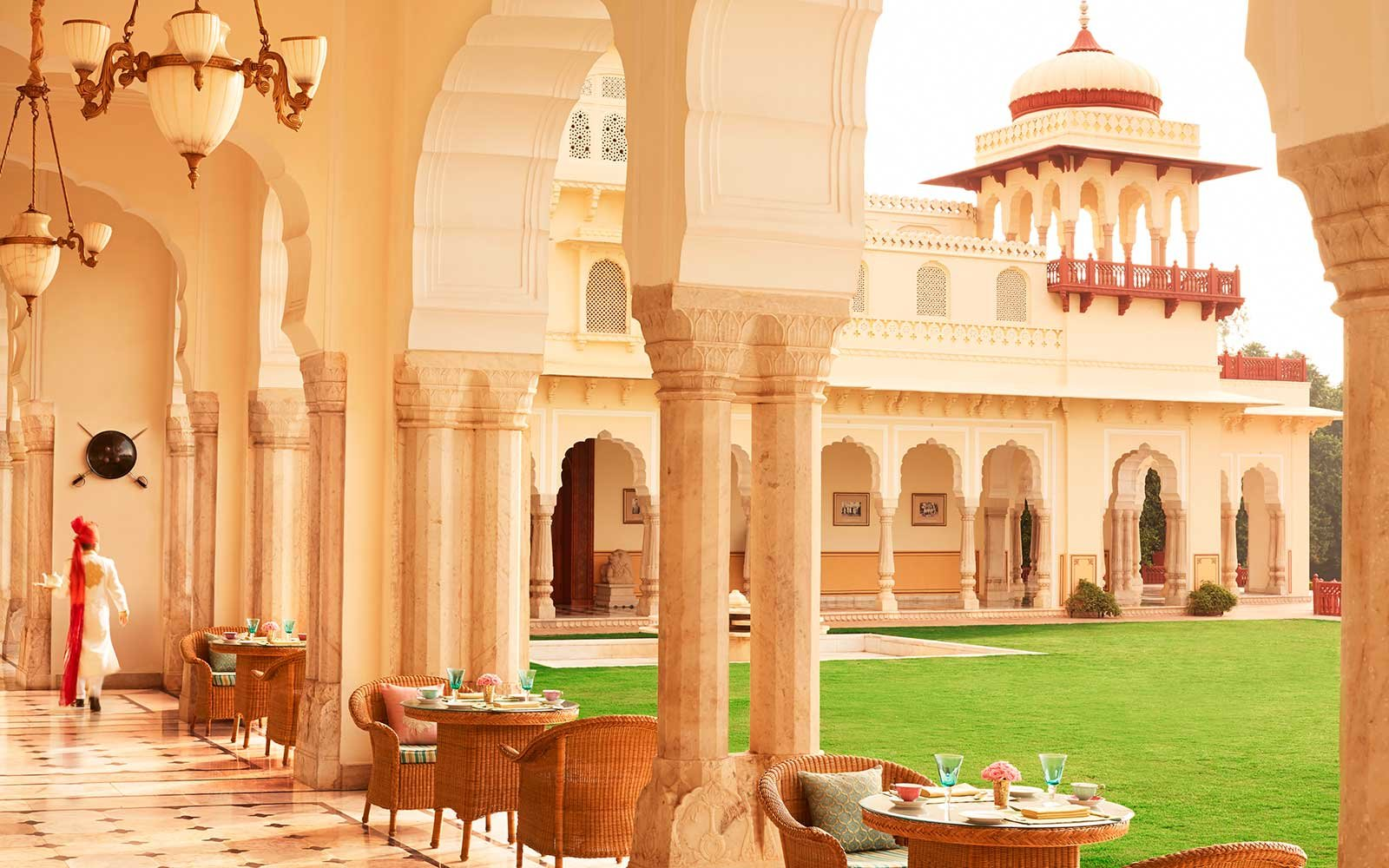 Rambagh Palace Resort Hotel in Asia