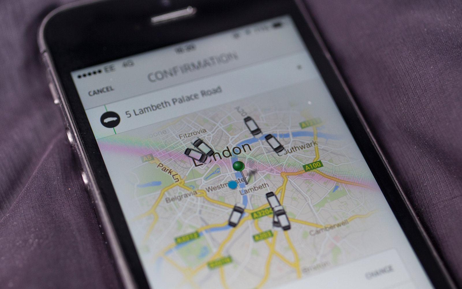 Uber is adding a featured to save places you go to regularly.