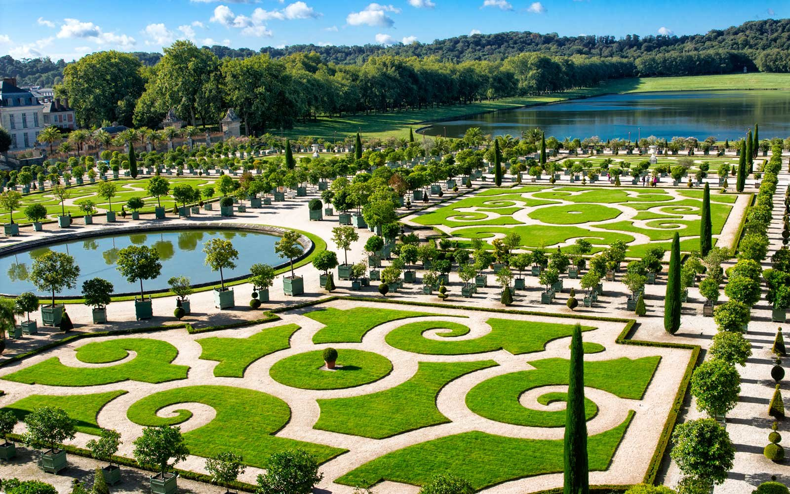 The Orangerie, Gardens of Versailles, France