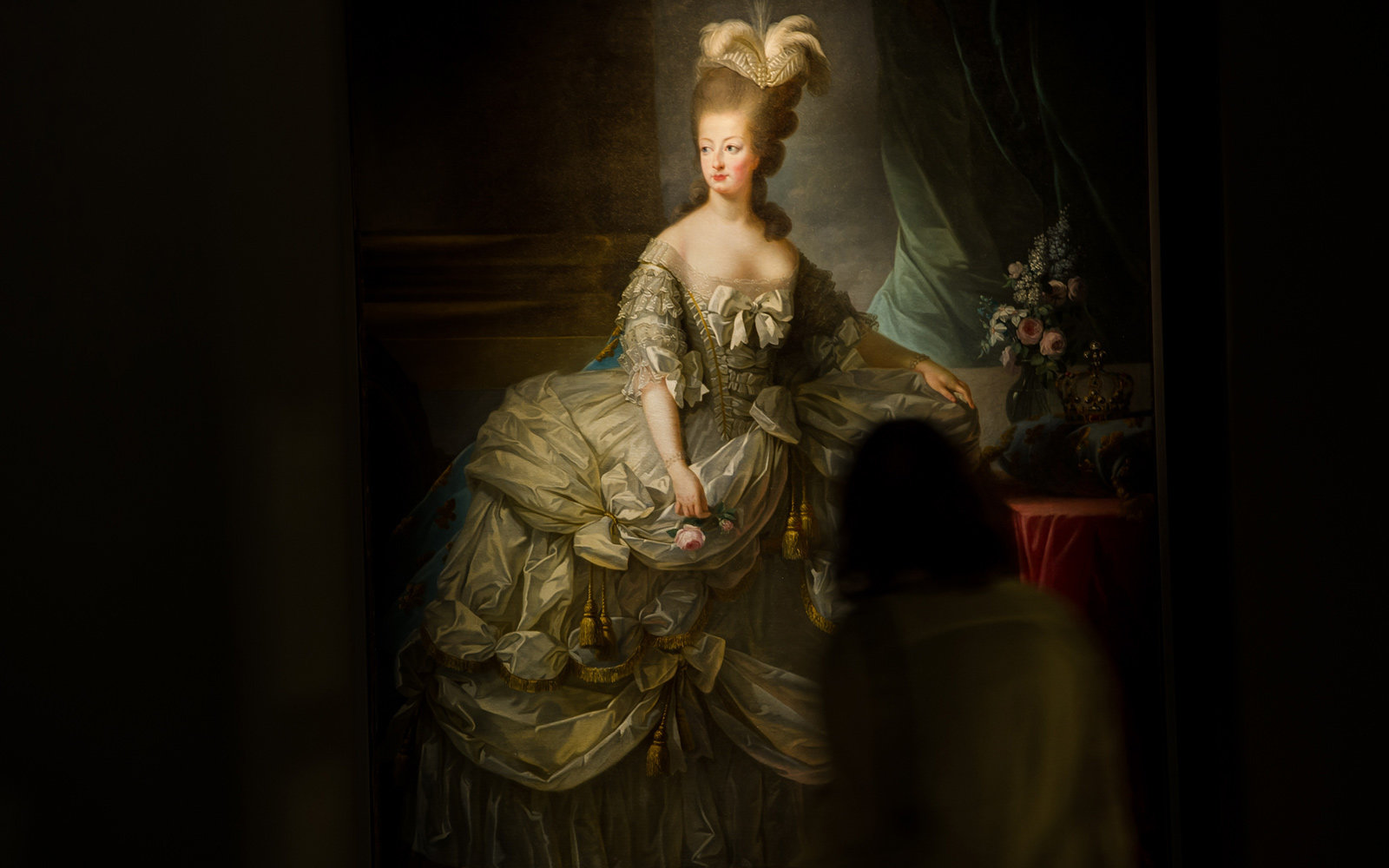 Queen of France Marie-Antoinette, Painted by Élisabeth Vigée Le Brun