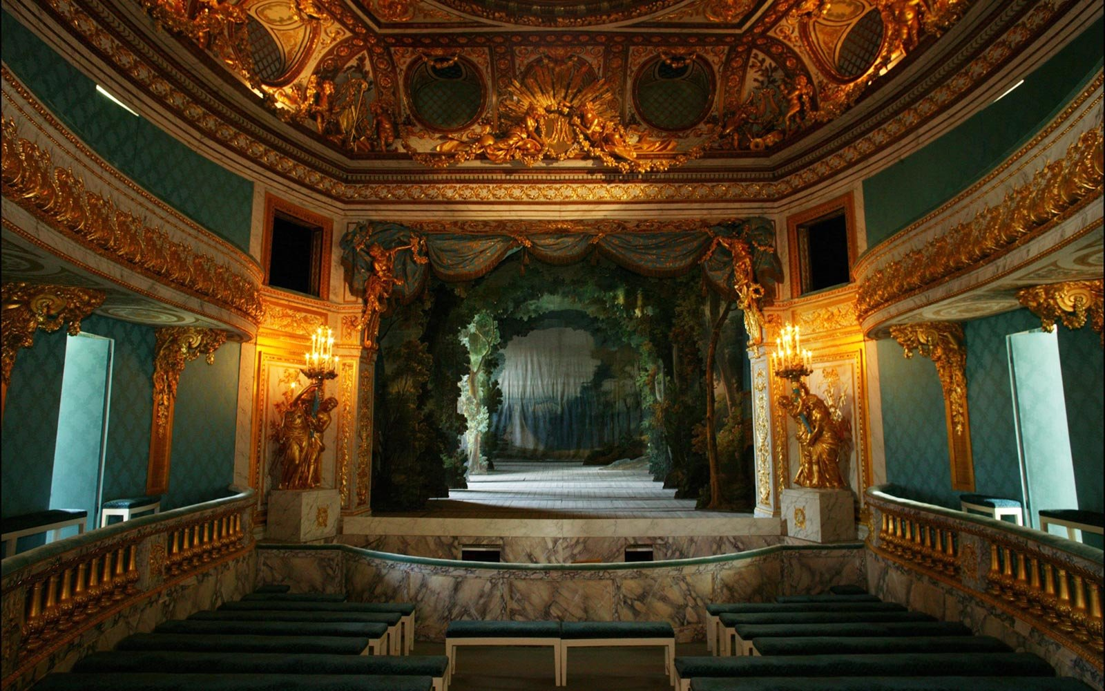 The Queen's Theatre, Versailles, France
