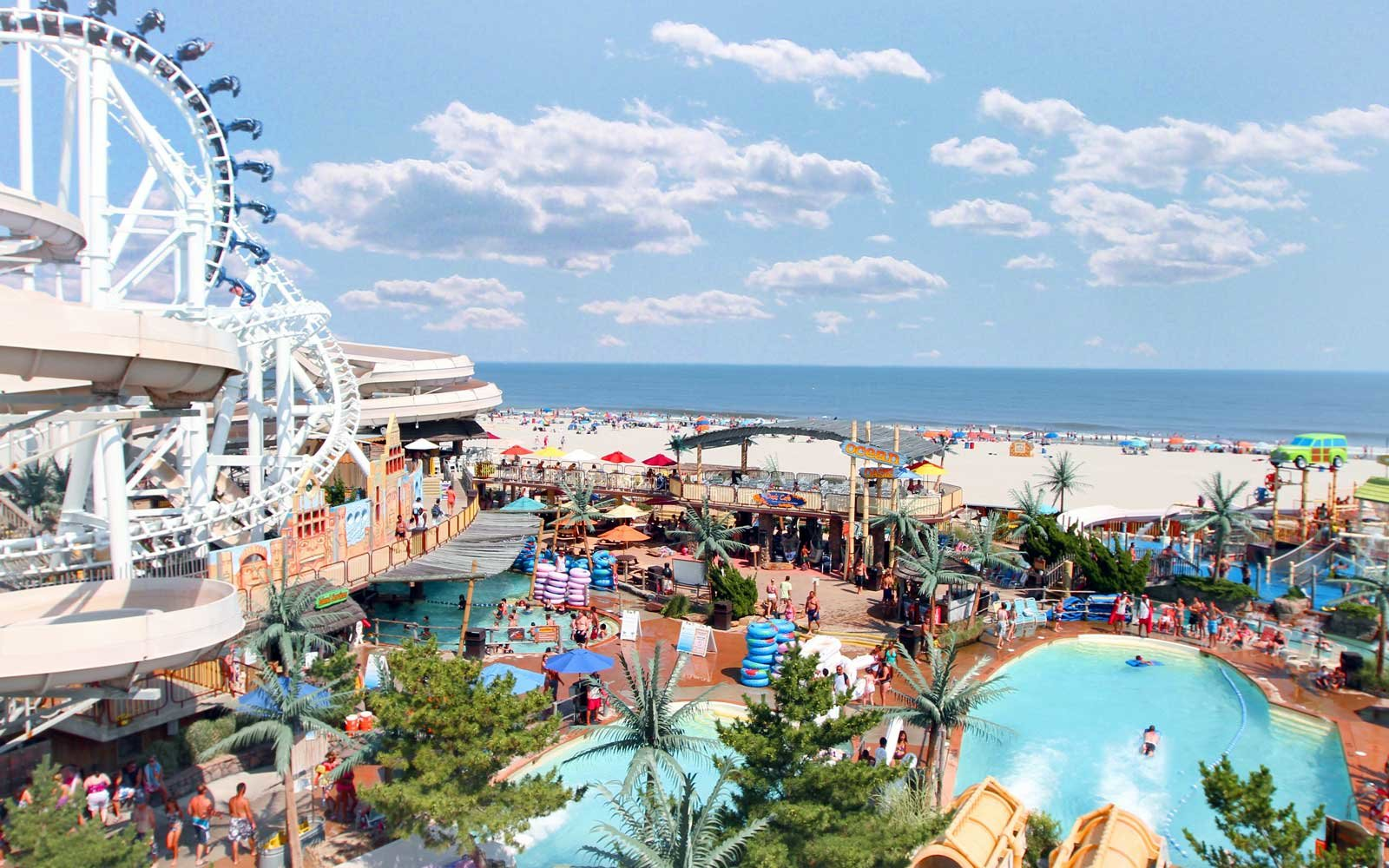 Morey's Piers and Beachfront Water Parks Wildwood, NJ