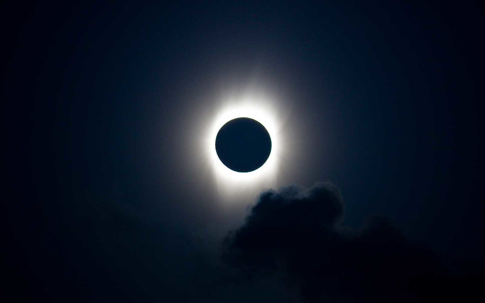 Total Solar Eclipse at 21 July 2009, Aitutaki Atoll, Cook Islands