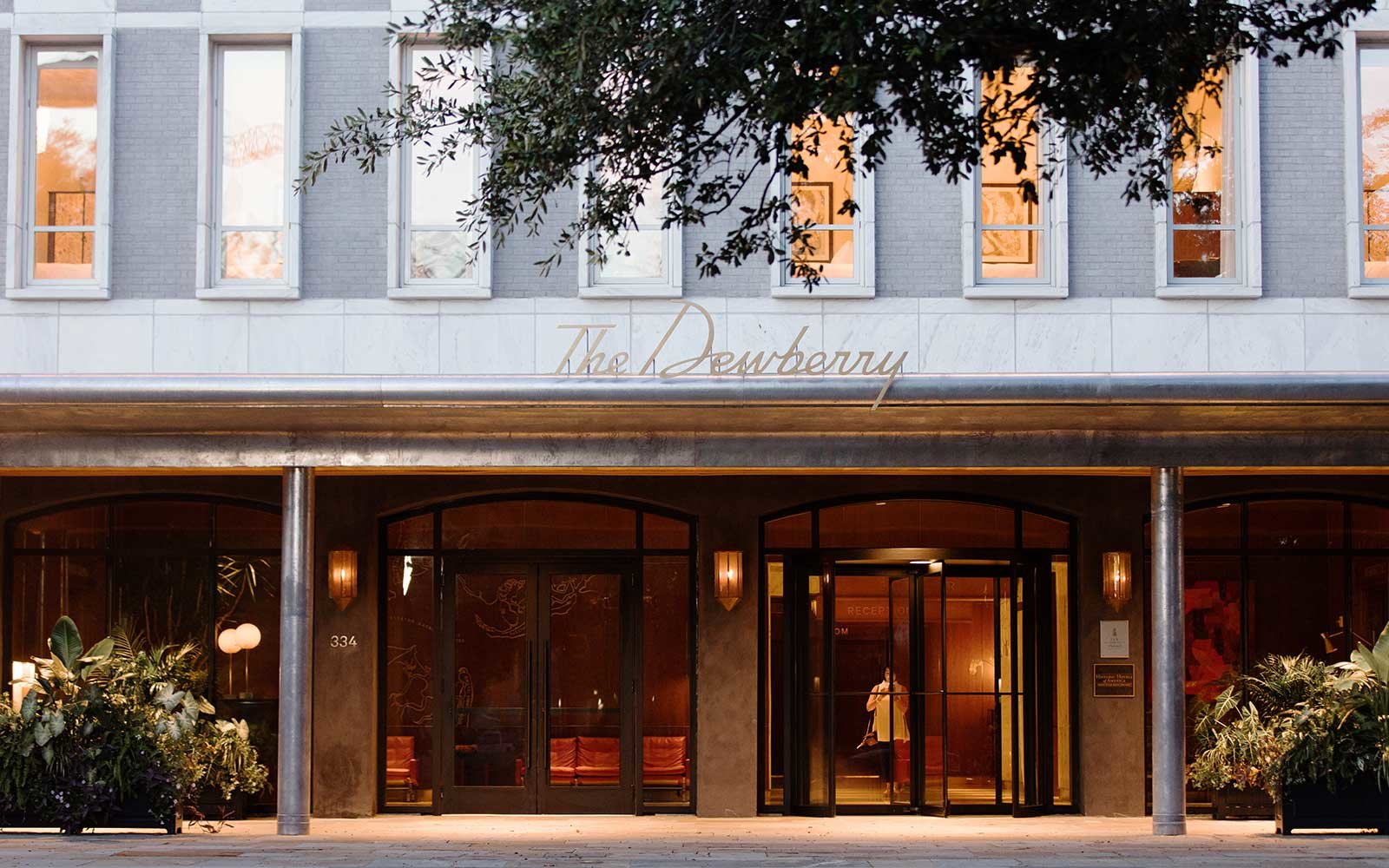 The Dewberry Hotel in Charleston