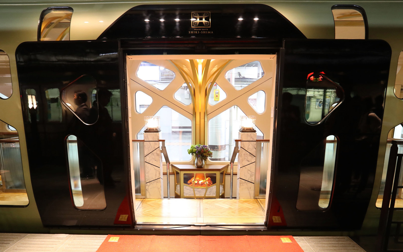 Japan's newest luxury train.
