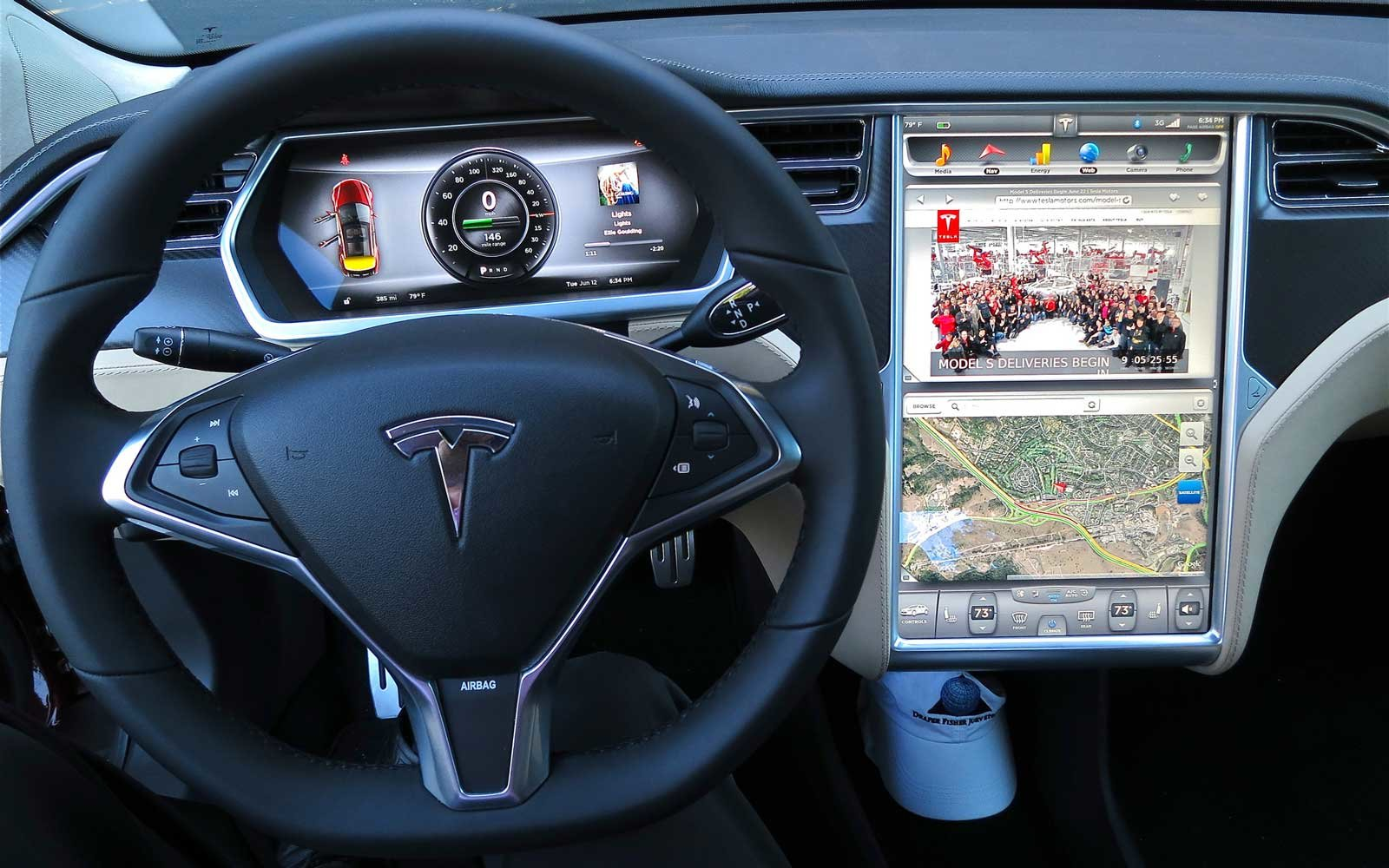 Tesla Dashboard