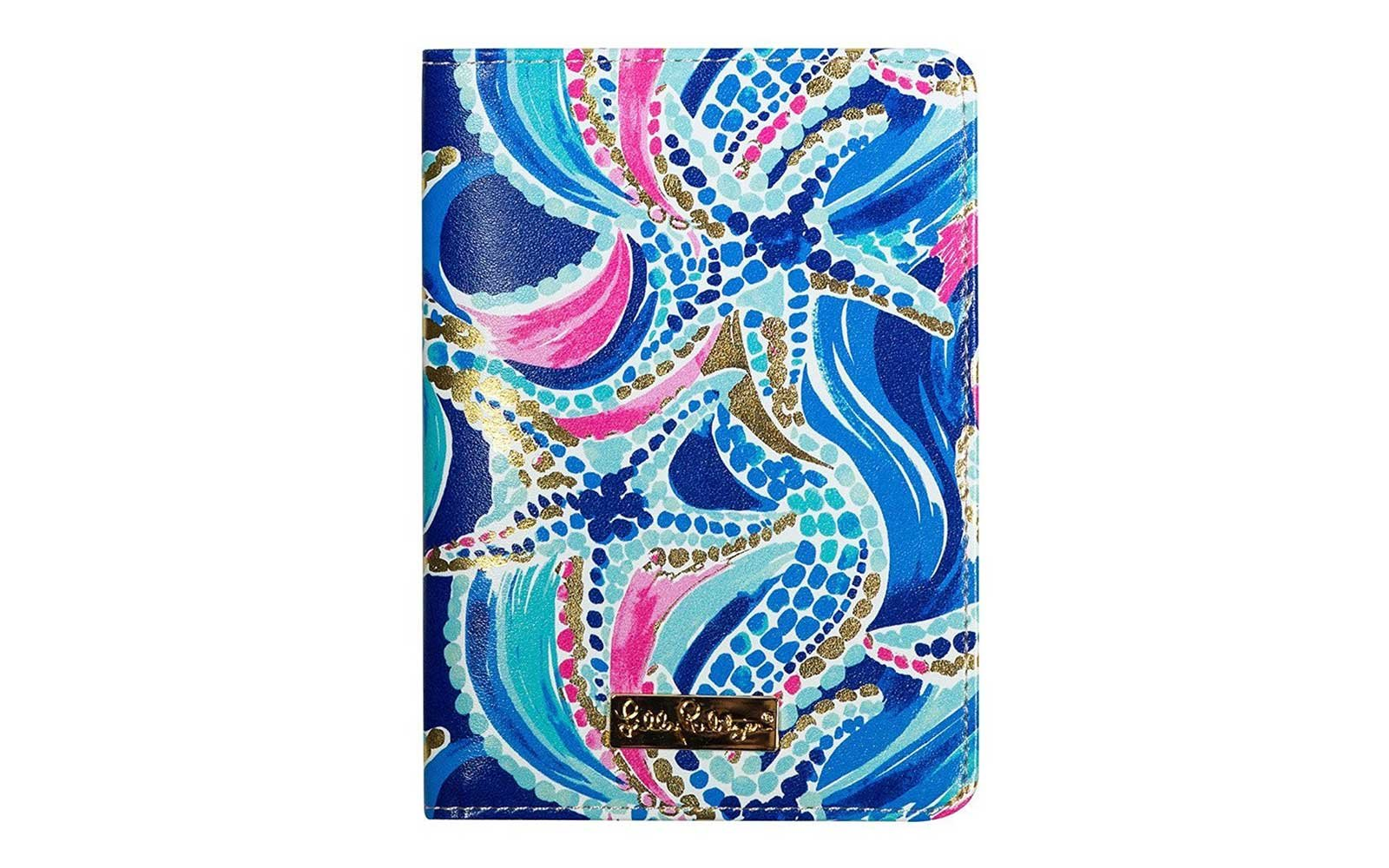 Lilly Pulitzer Passport Cover Jewels Case