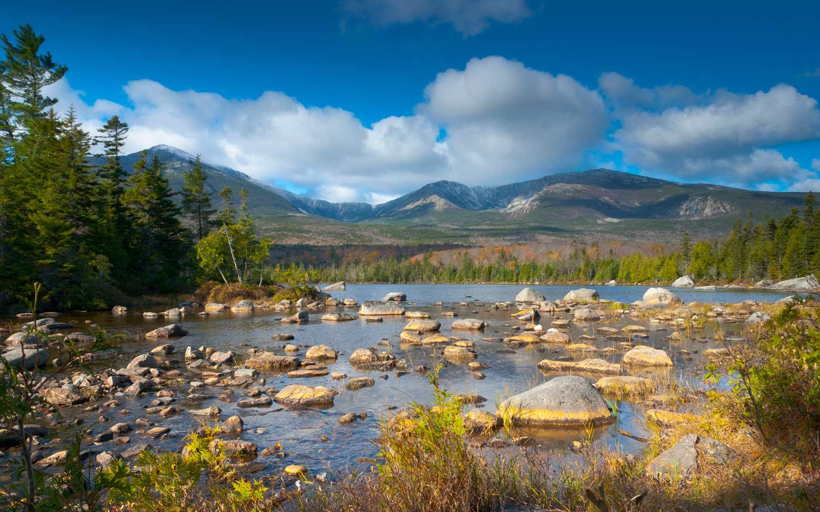 Sandy Stream Pond, Baxter State Park, Maine, New England