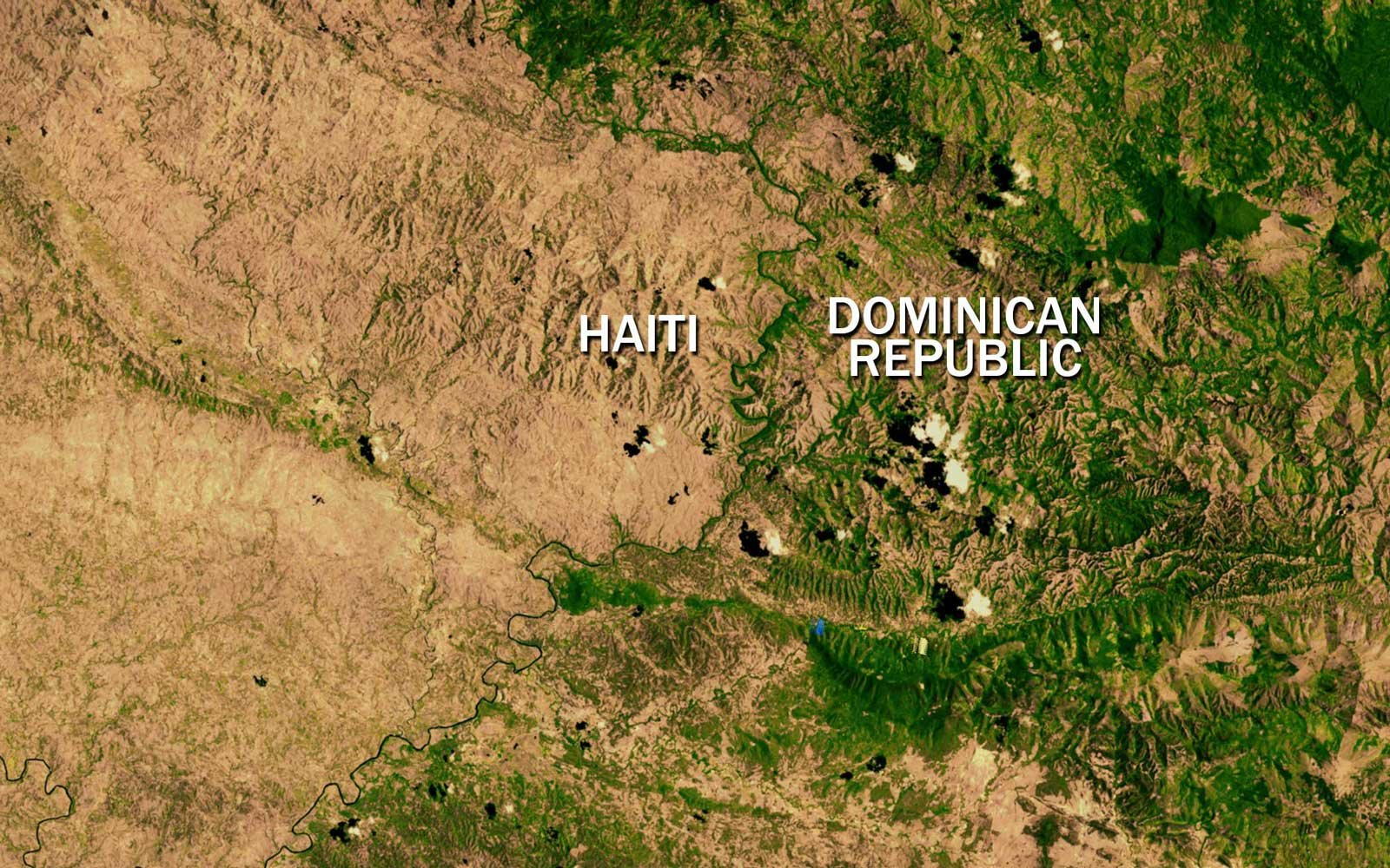 International Borders Haiti Dominican Republic