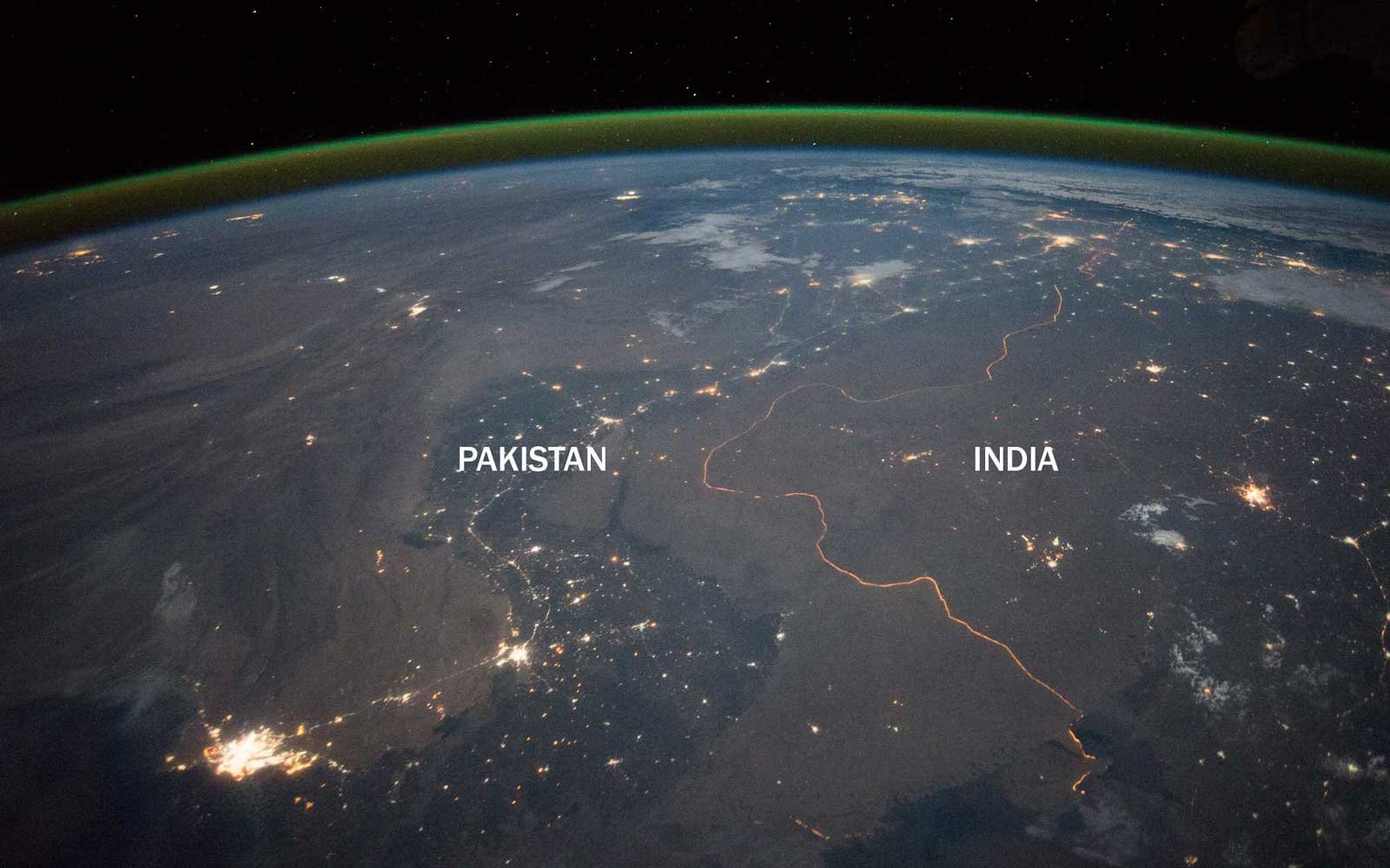 International Borders India Pakistan