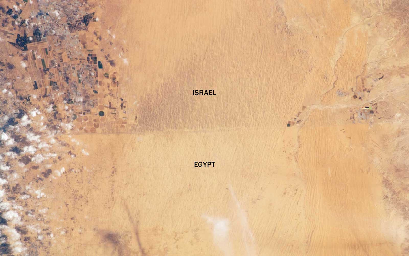 International Borders Israel Egypt