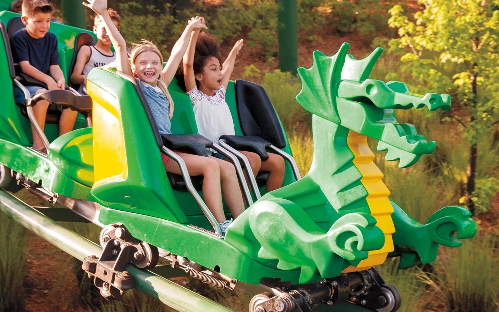 Dragon Coaster, Legoland, California