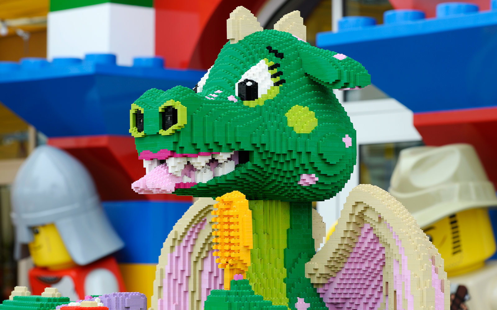 Dragon, Legoland, California